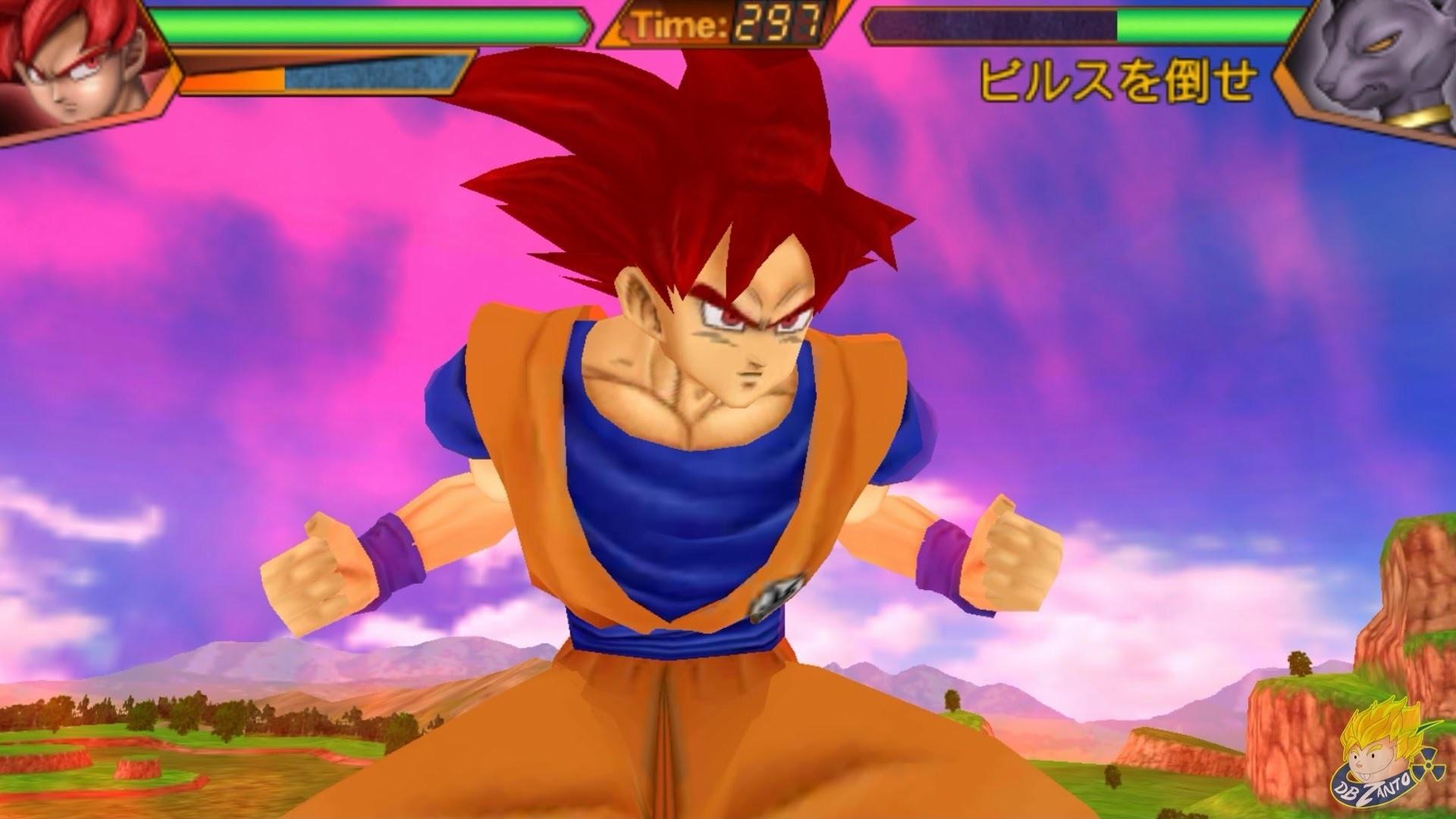 Dragon Ball: Ultimate Swipe   Super Saiyan God Goku Vs Beerus/ Bills  【HD】  – YouTube