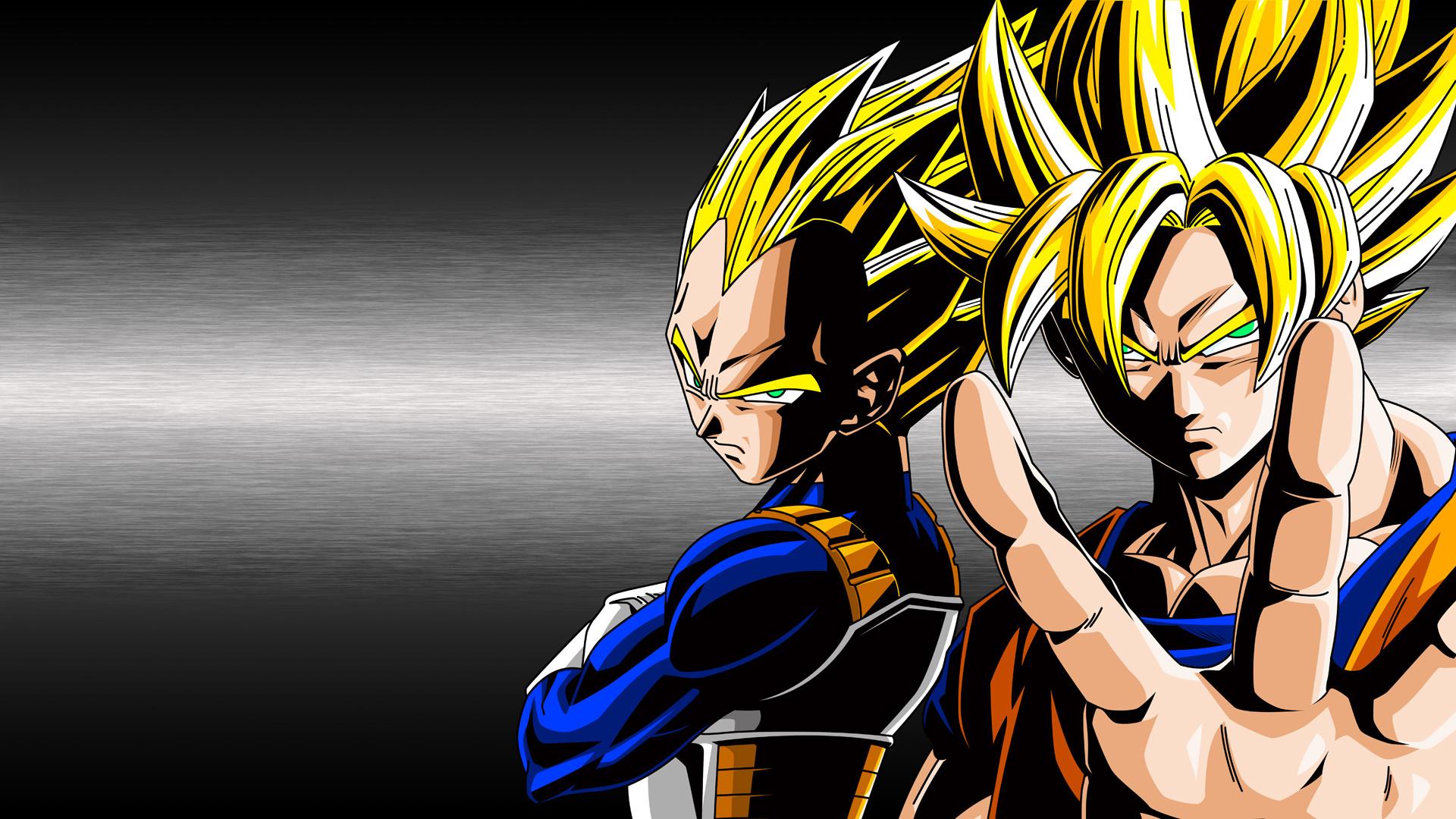 Goku and Vegeta Super Saiyan 10