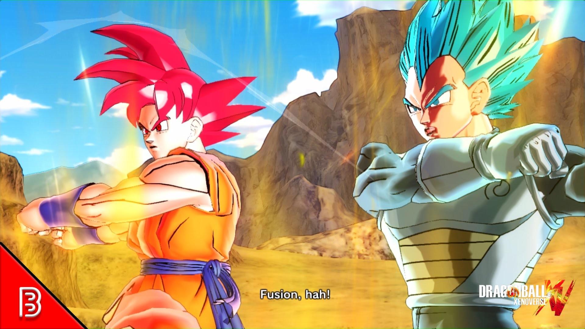 Super Saiyan God Goku + Super Saiyan Blue Vegeta Fusion = ?!   Xenoverse  [Episode 125] – YouTube