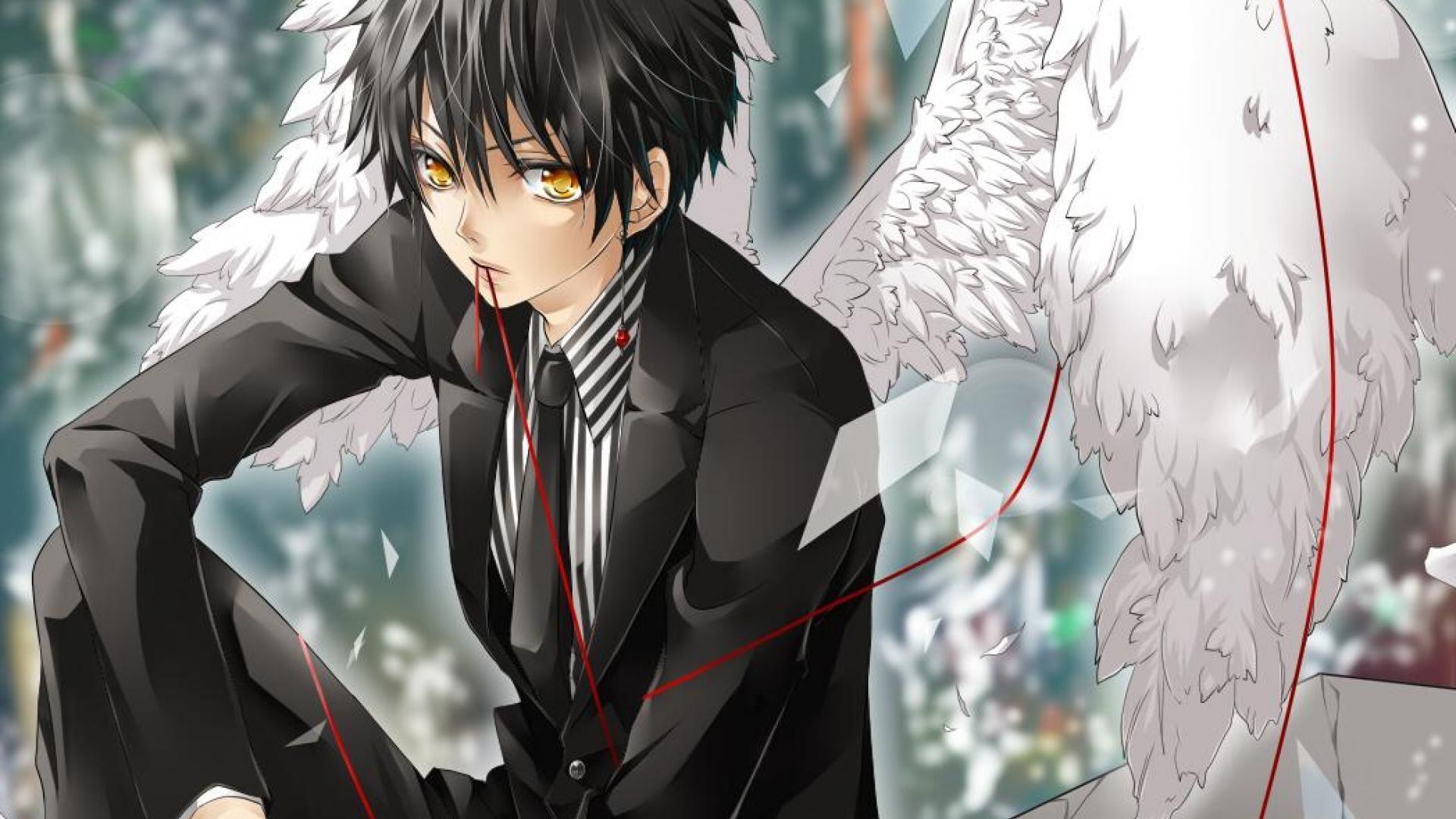 Anime Angel Boy Wallpaper