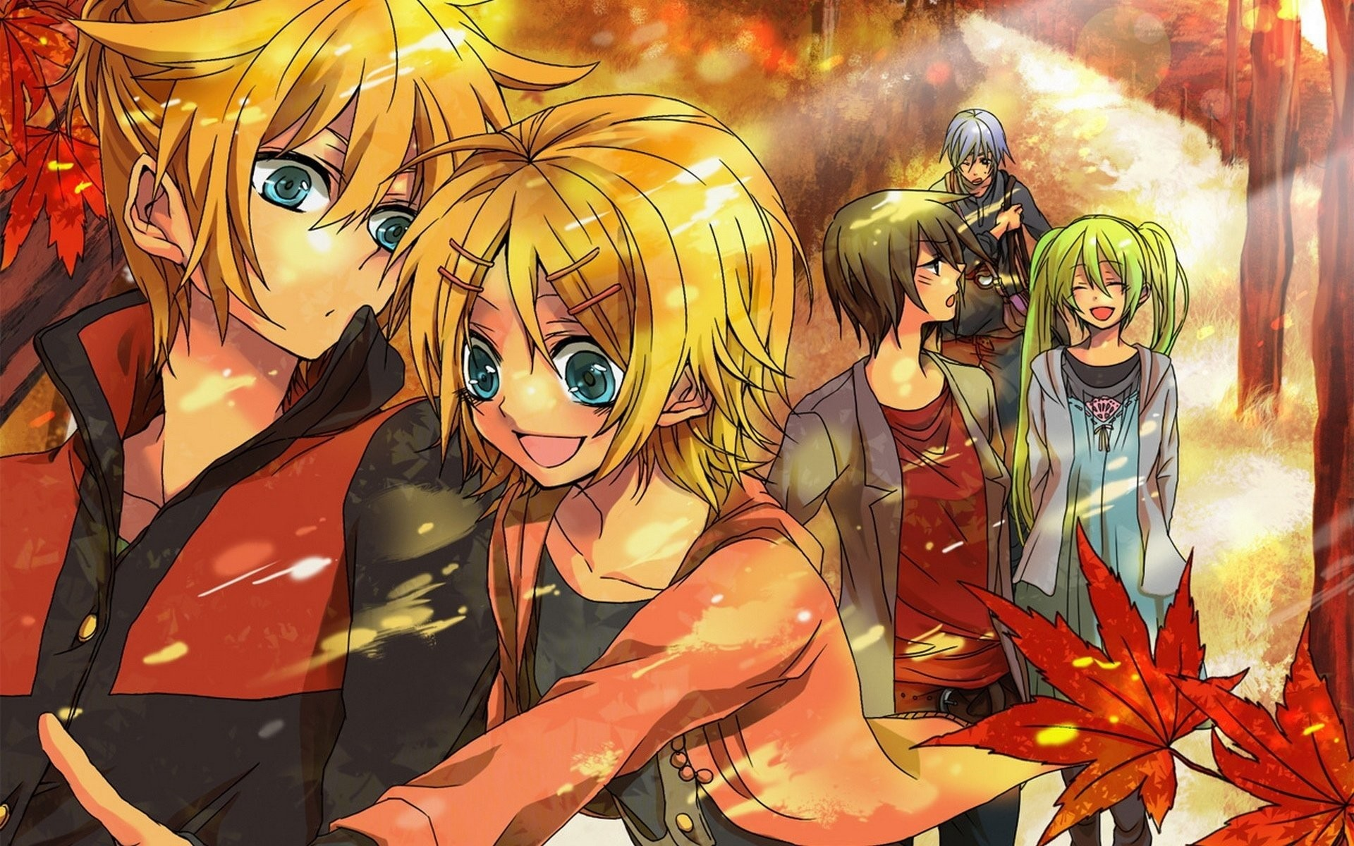 Anime Boy And Girl 715226 …