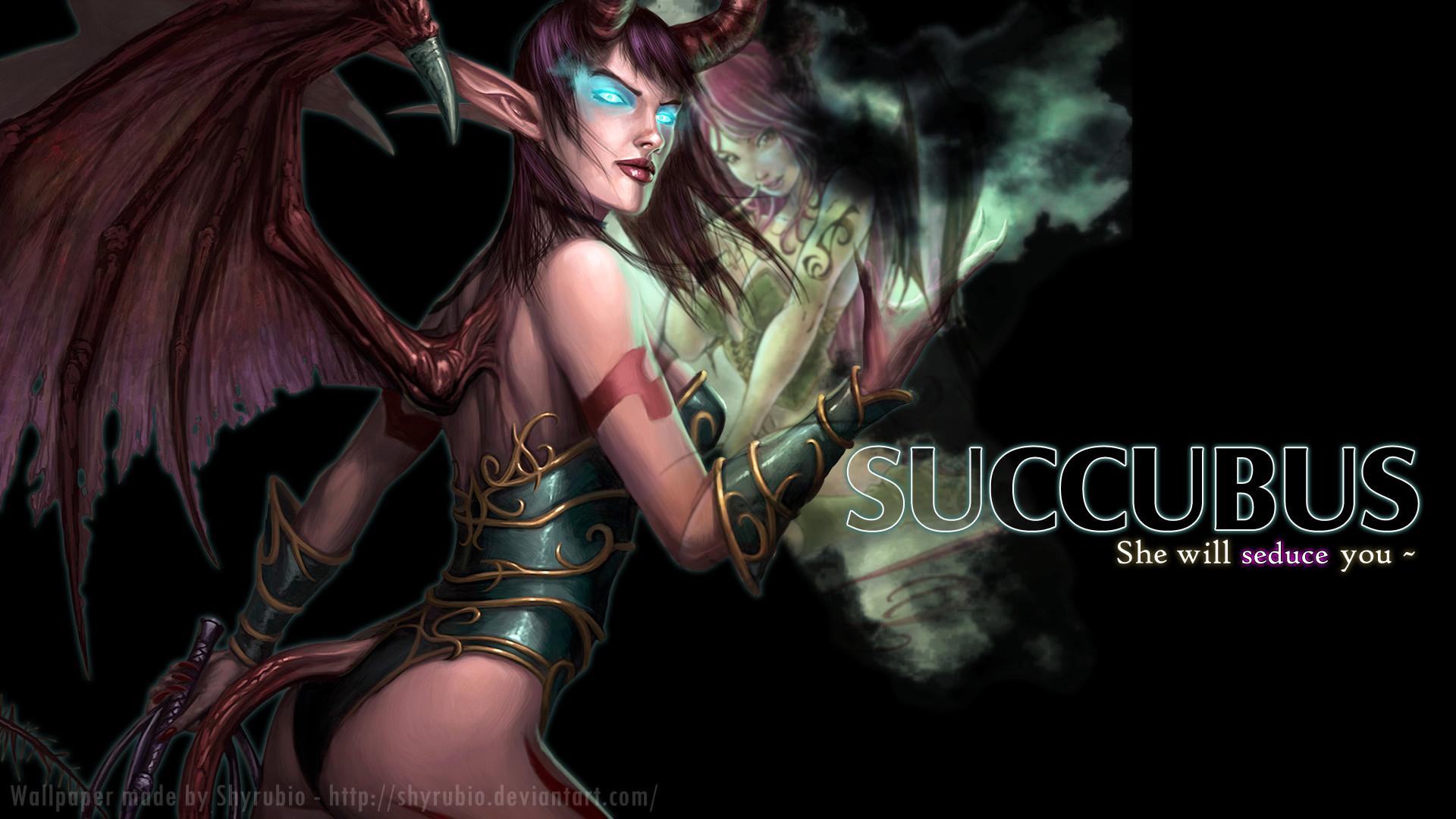Succubus by shyrubio on DeviantArt