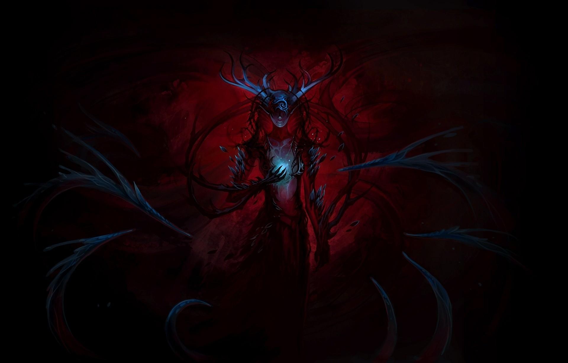 … Artwork Demon Wallpaper Artwork, Demon, Girl · Original Anime  …