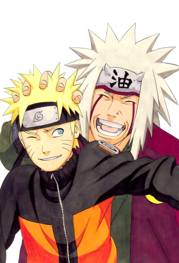 … Render Naruto and Jiraya Sensei HD by WallPB
