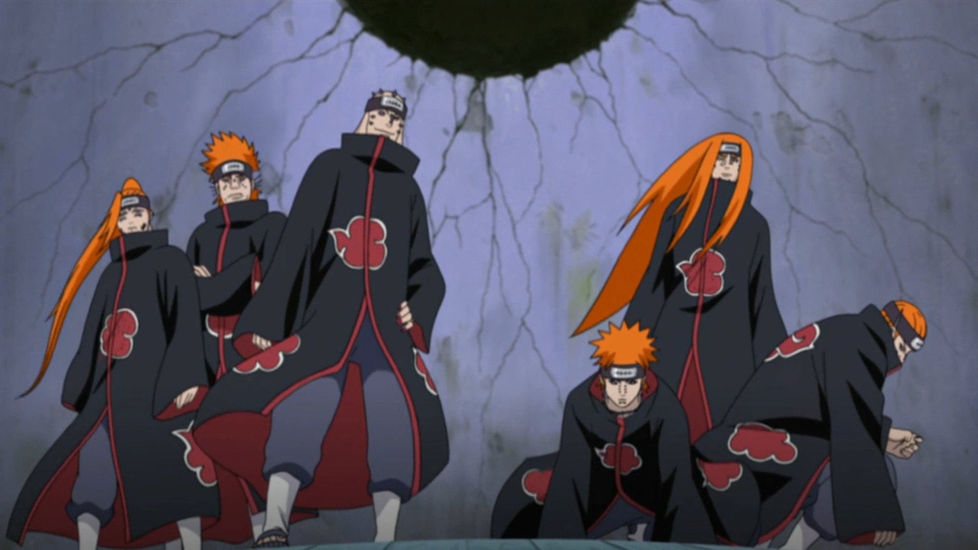 Six Paths of Pain