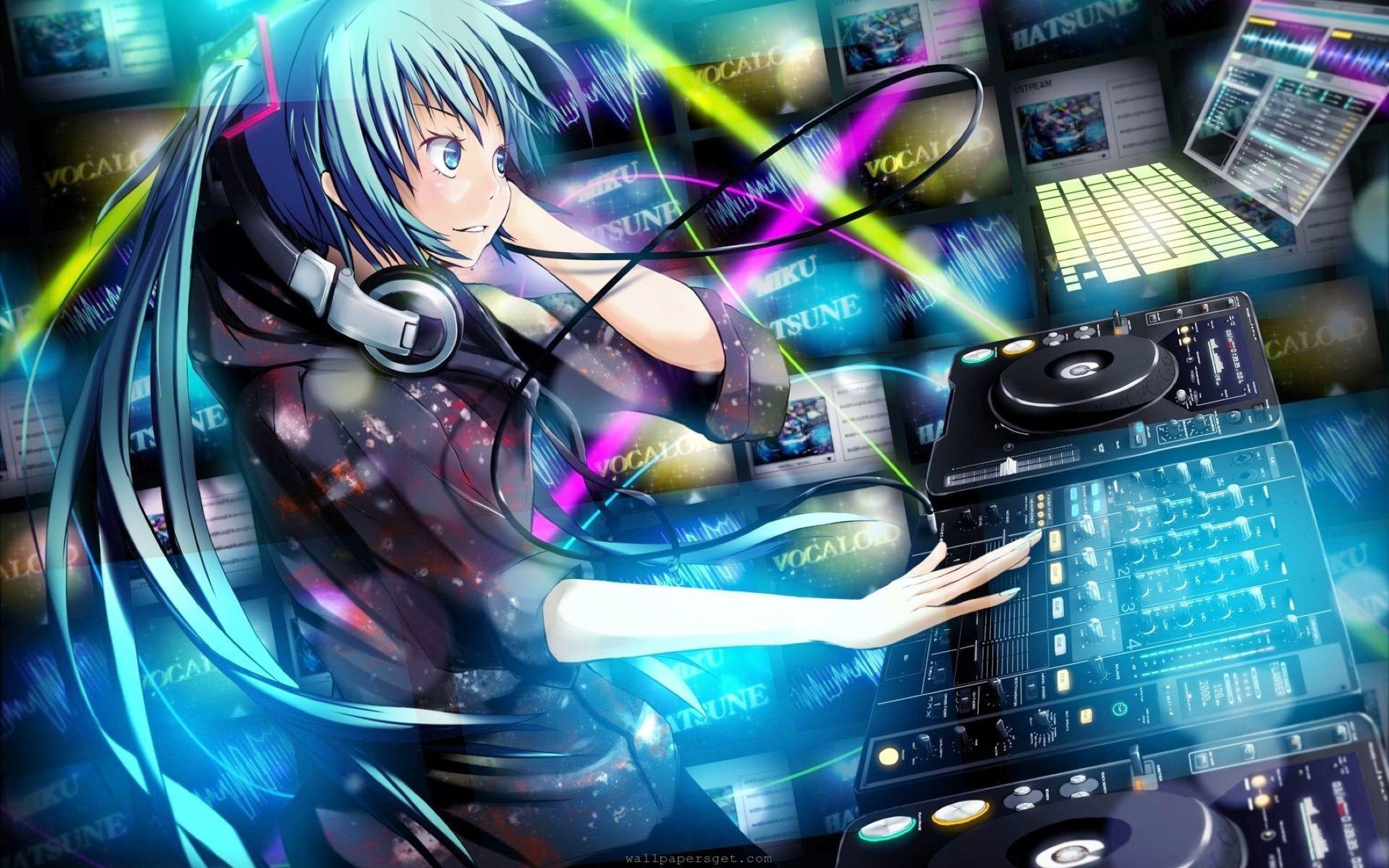 Anime Dj Music Wallpaper