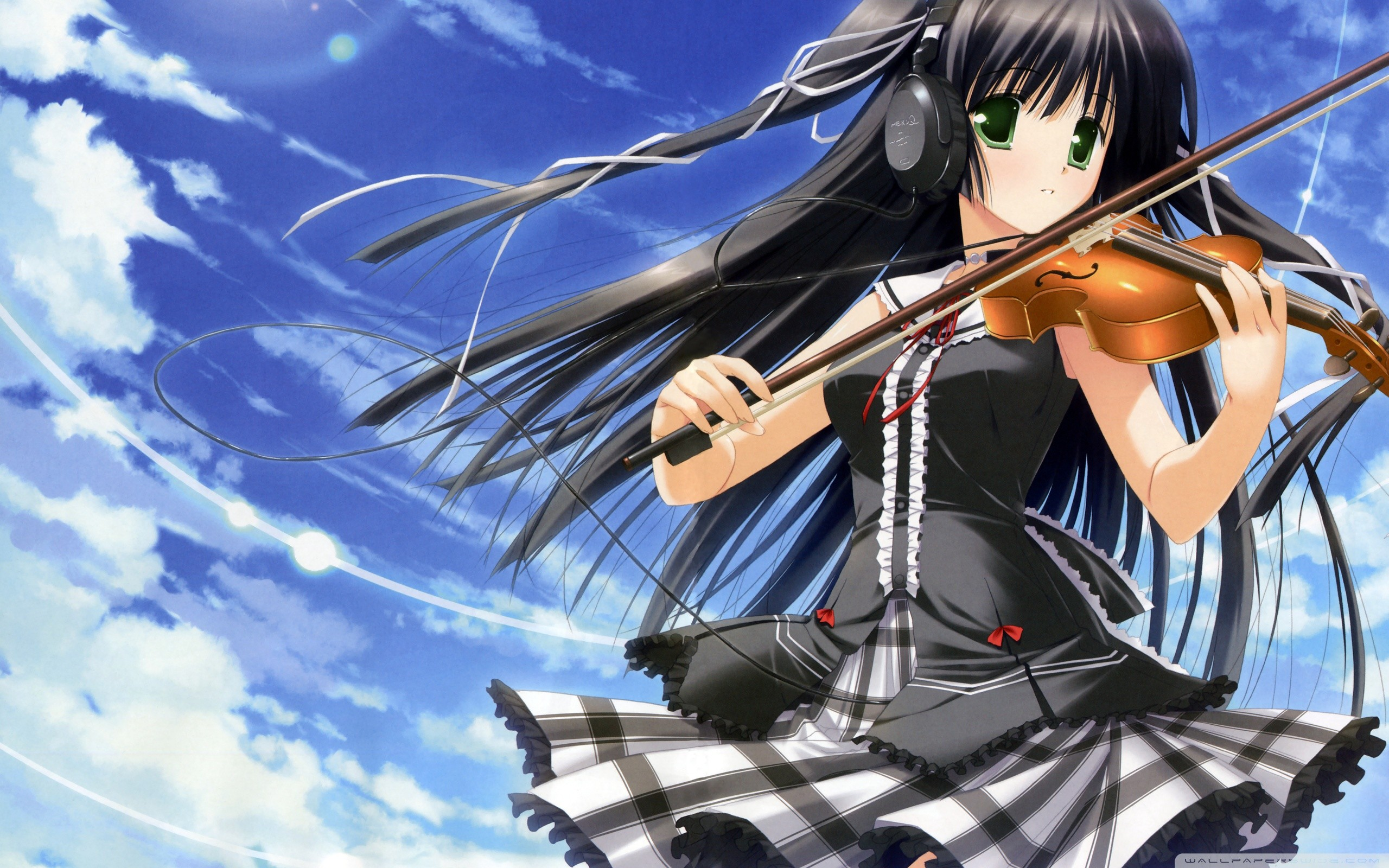 Anime Music Wallpaper Background