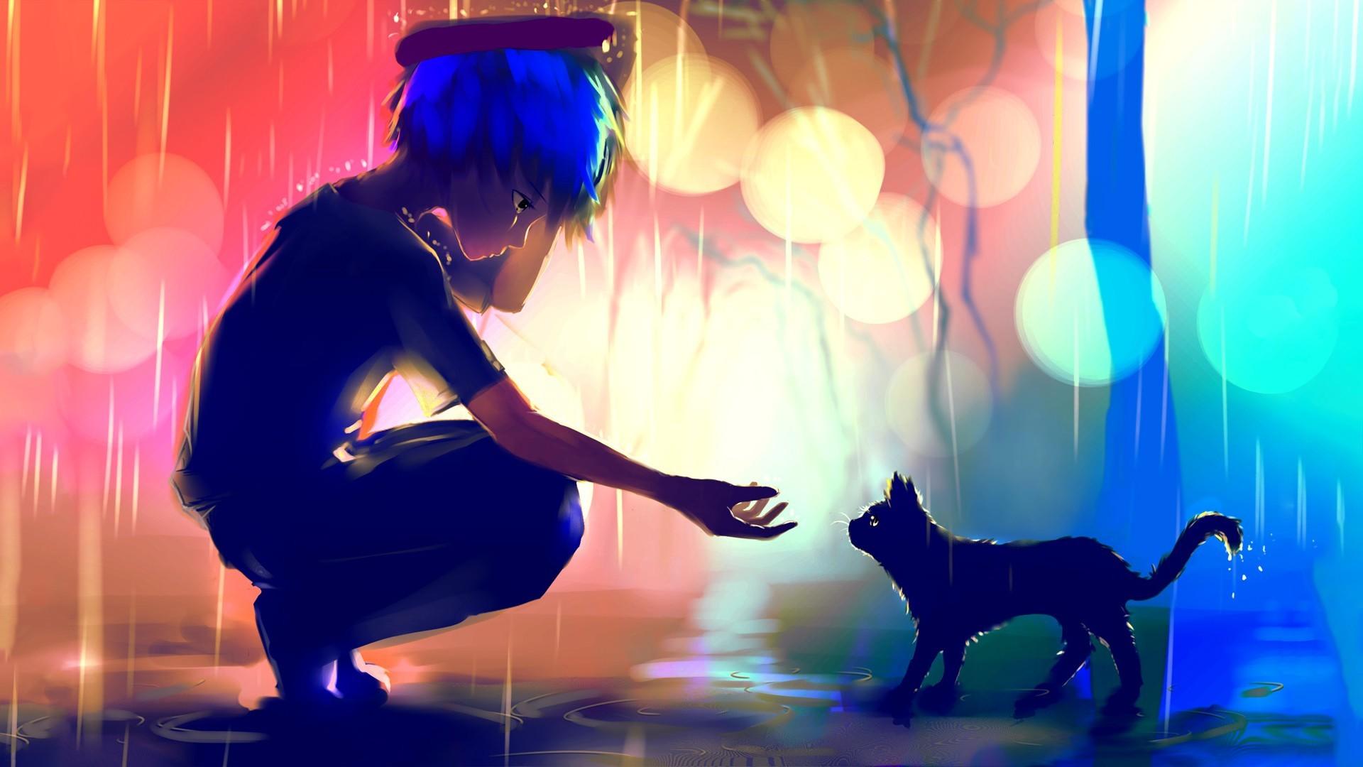 Anime Desktop Wallpaper · Anime HD Background