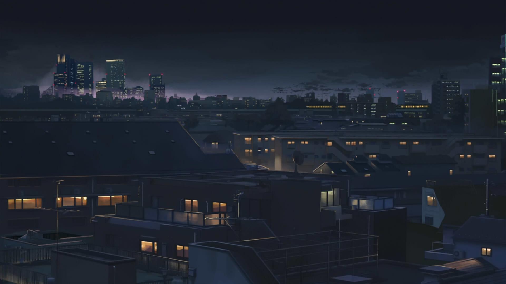 Anime City Desktop Wallpaper 50839