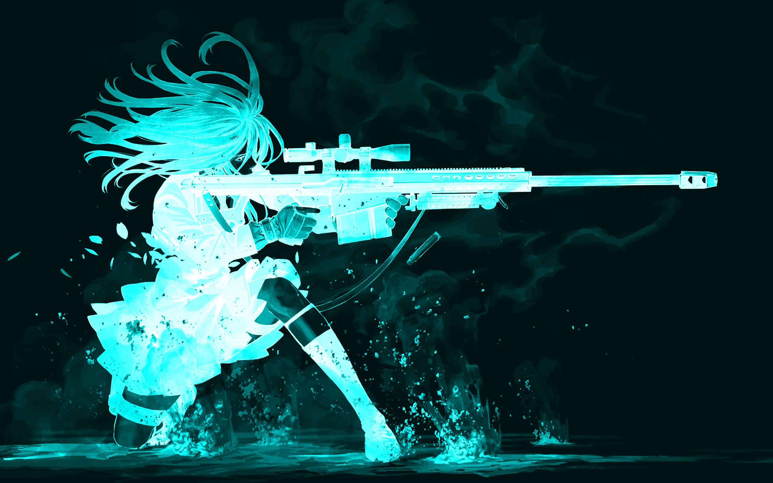 Gun Girl Computer Wallpapers, Desktop Backgrounds | | ID .