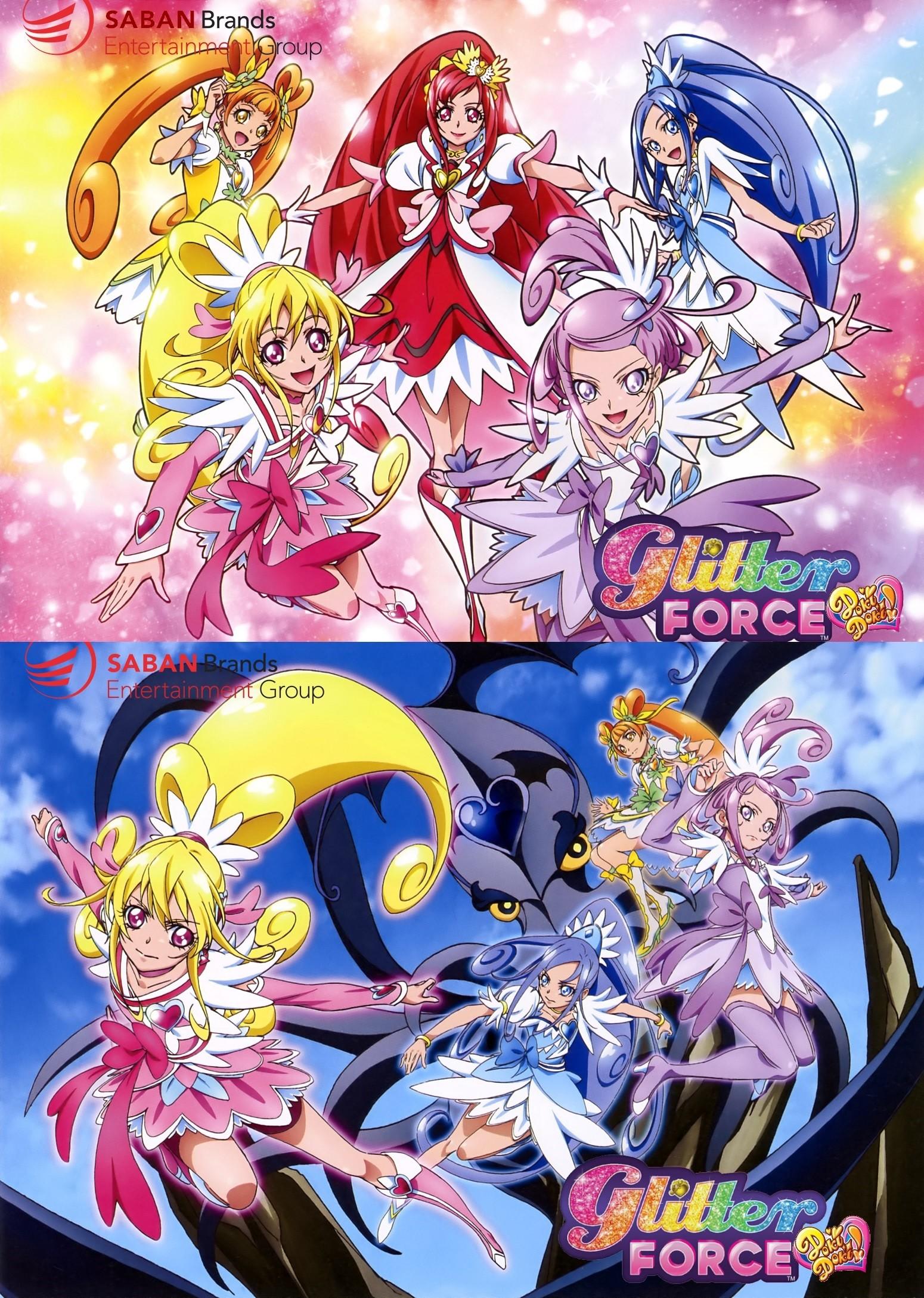 … StarWarriorDecade Glitter Force Doki Doki Custom Wallpapers by  StarWarriorDecade