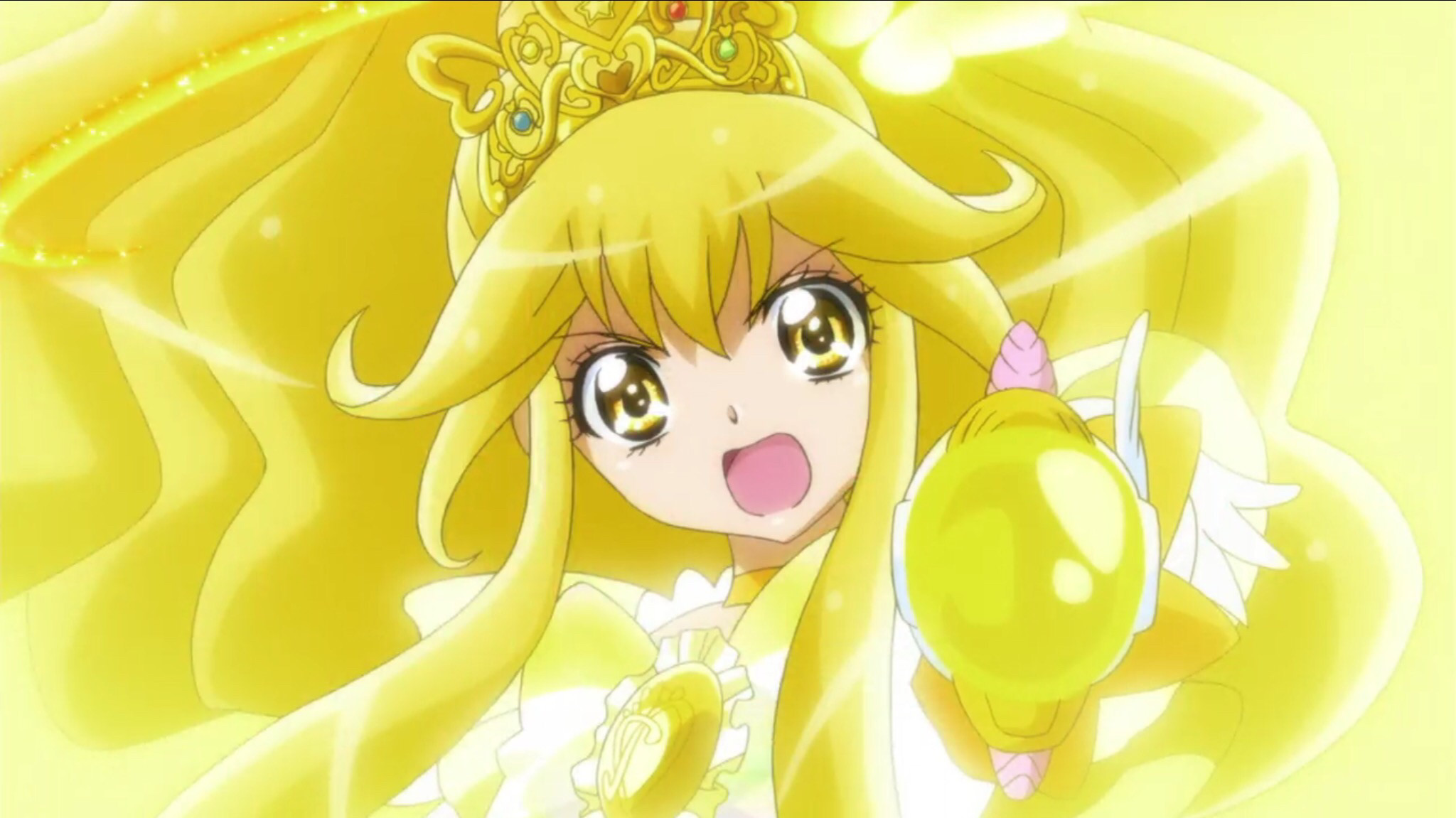 Emily (Glitter Lucky) and Candy | Smile precure | Pinterest | Glitter force,  Pretty cure and Smile pretty cure