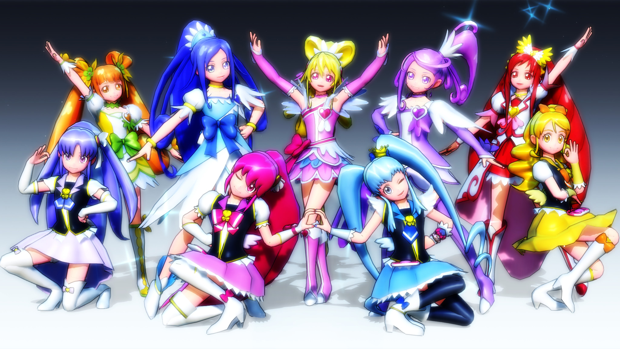 Precure – HappinessCharge Precure! by Lucky3Seven