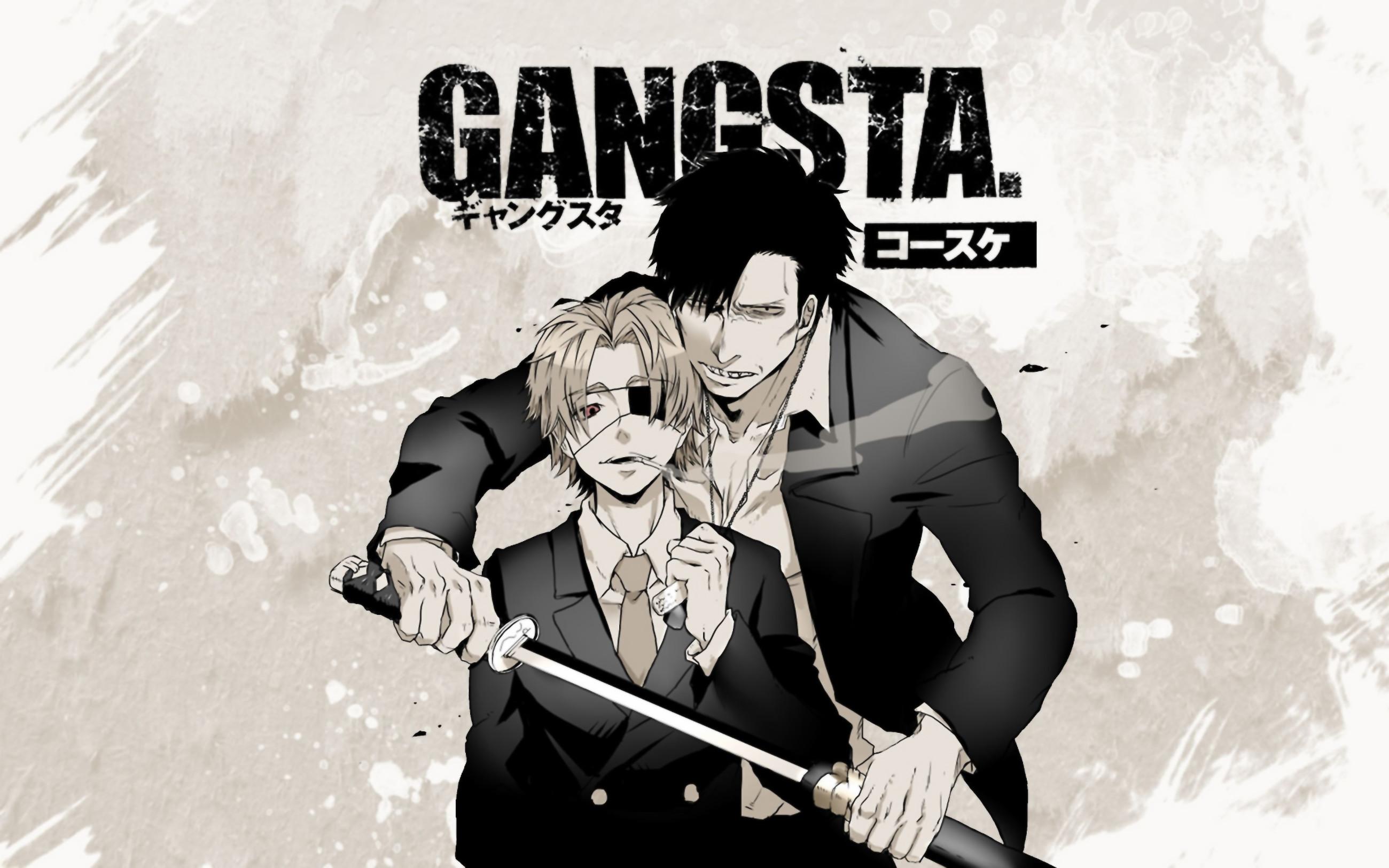 HD Wallpaper | Background ID:755828. Anime Gangsta.