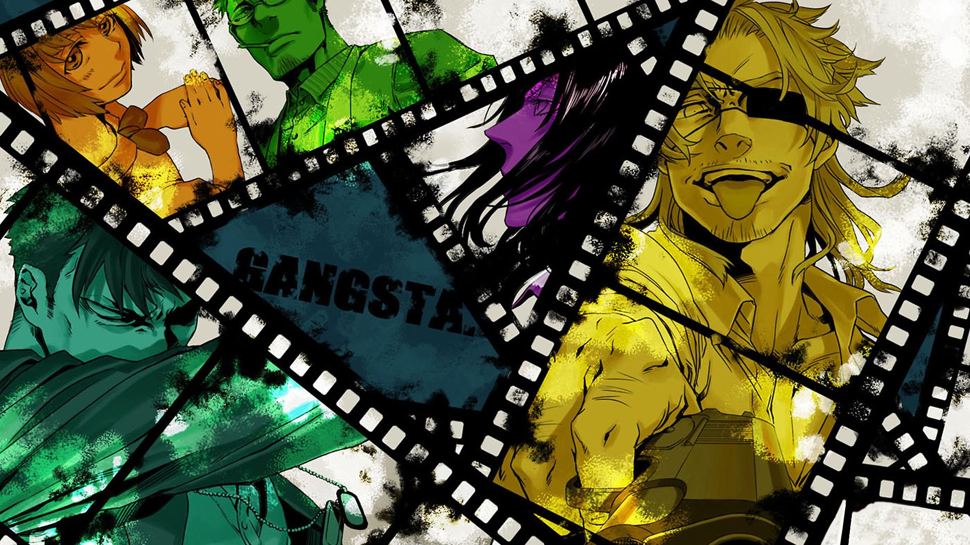 Anime Gangsta. Wallpaper