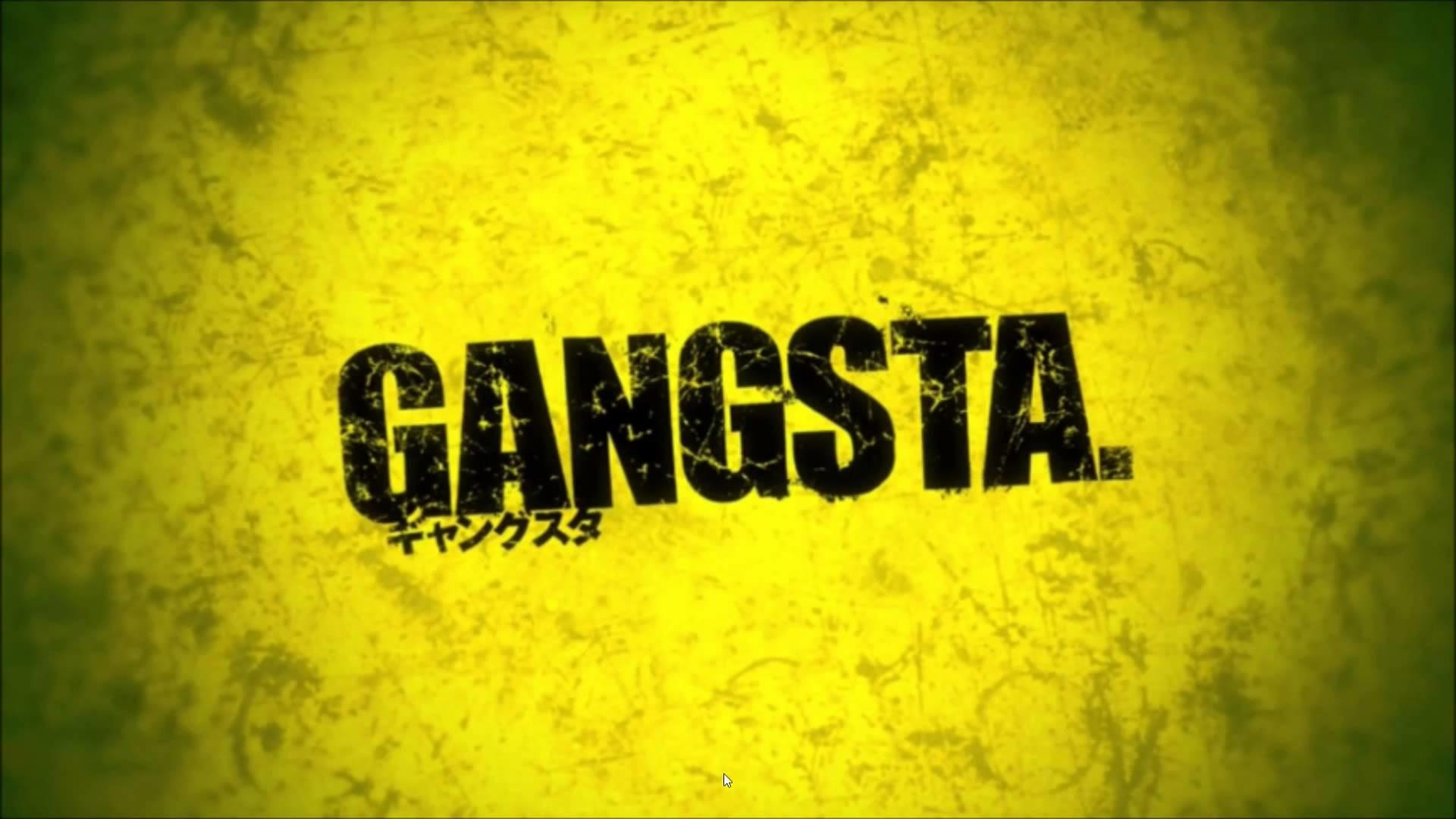Anime – Gangsta. Wallpaper