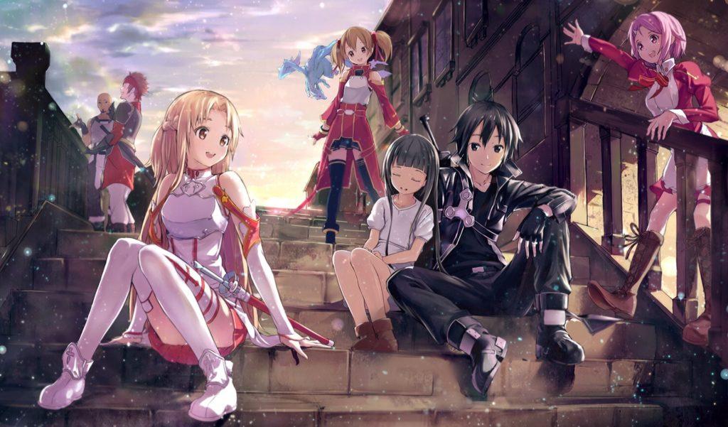 Asuna Yuuki Kirito Sword Art Online · HD Sfondo ID:505441