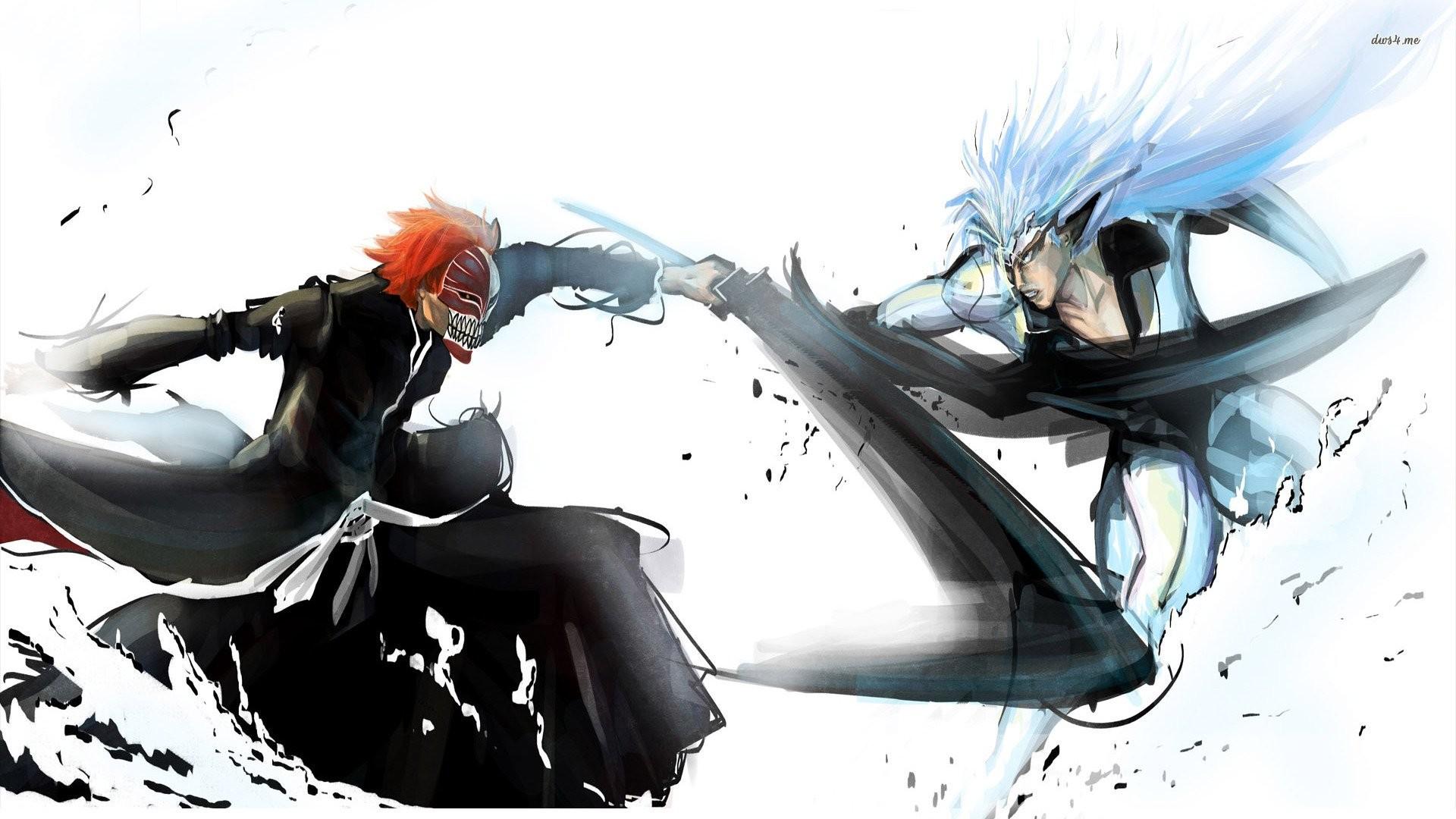Bleach – Grimmjow Jaegerjaquez x Ichigo Kurosaki – Grimmichi   Grimmjow &  Ichigo   Pinterest   Anime