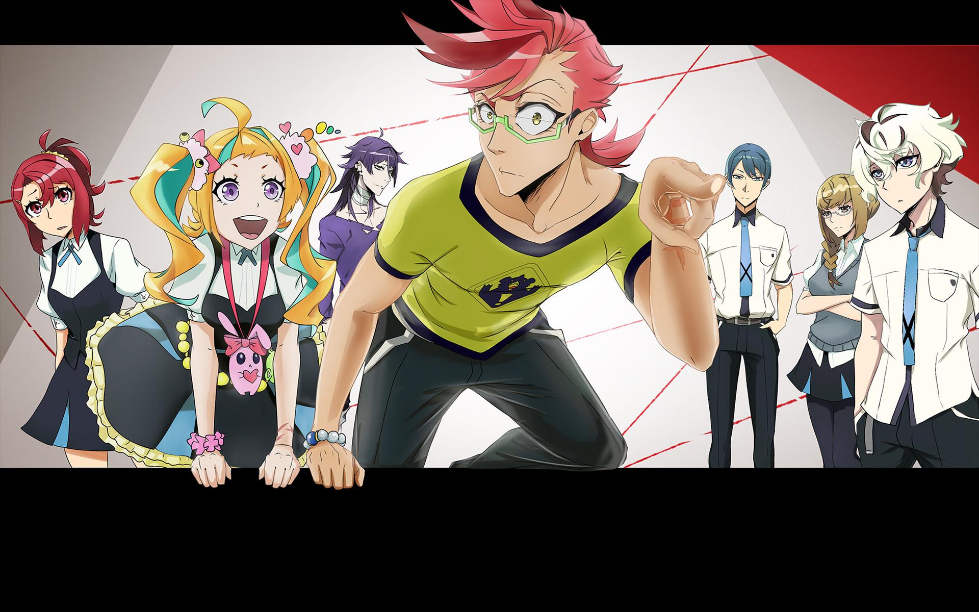 Anime – Kiznaiver Bakgrund