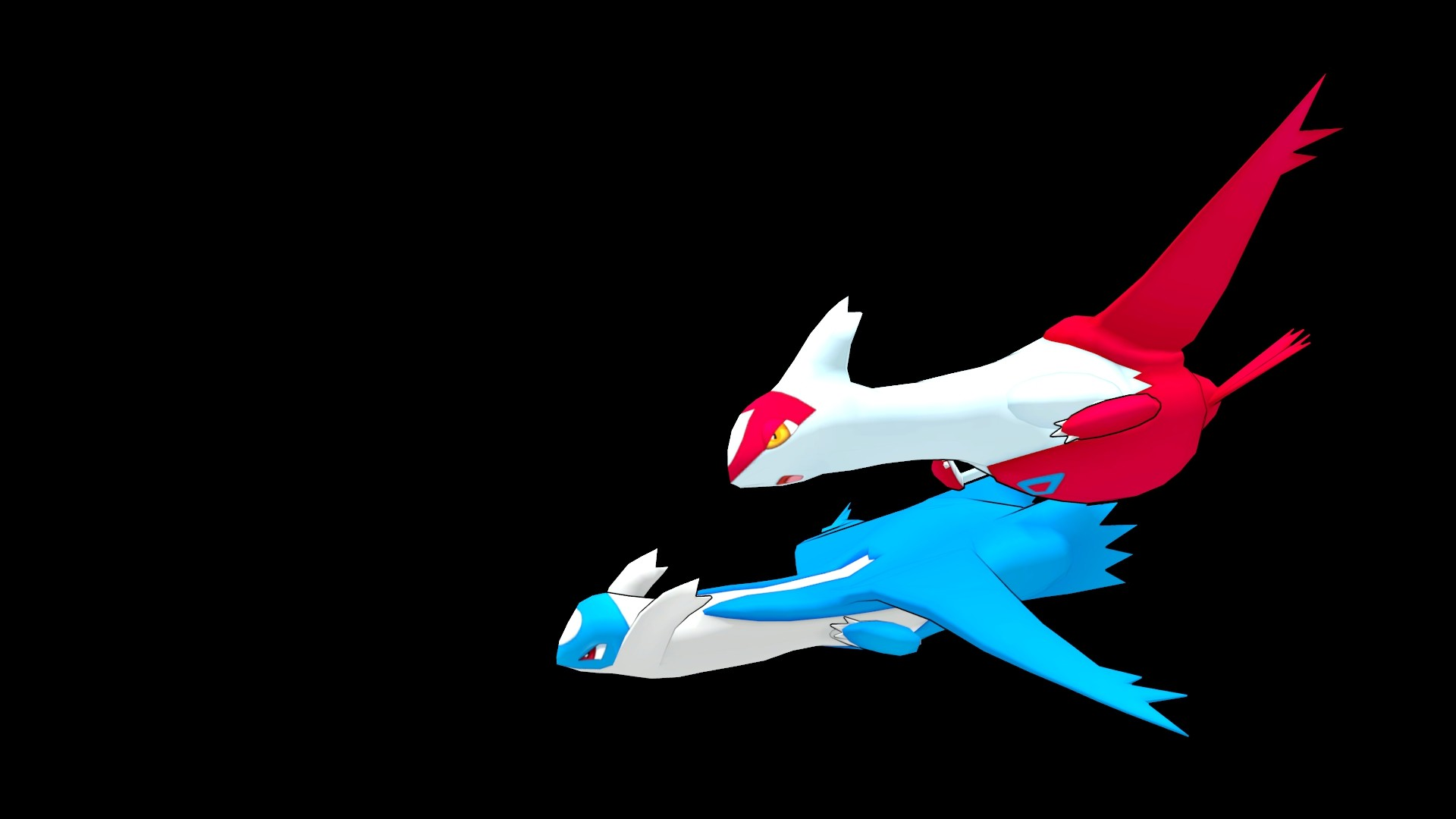 HD image of the Latios 3D Model available at ROEStudios.co.uk