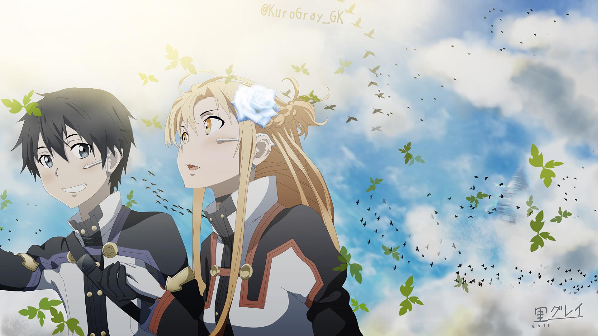 … Sword Art Online Ordinal Scale Yuna · HD Wallpaper | Background  ID:744212