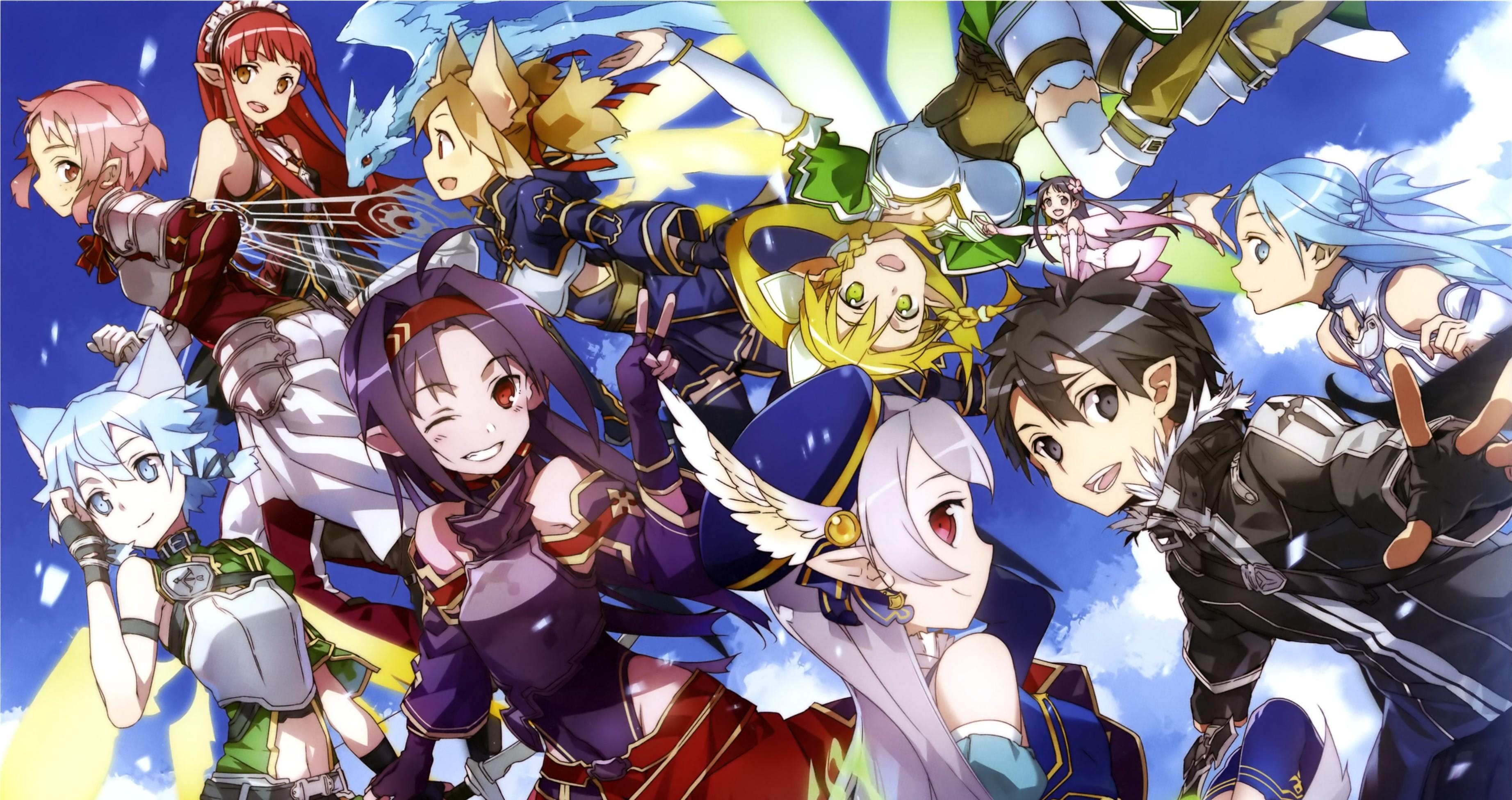 HD Wallpaper | Hintergrund ID:671991. Anime Sword Art Online II
