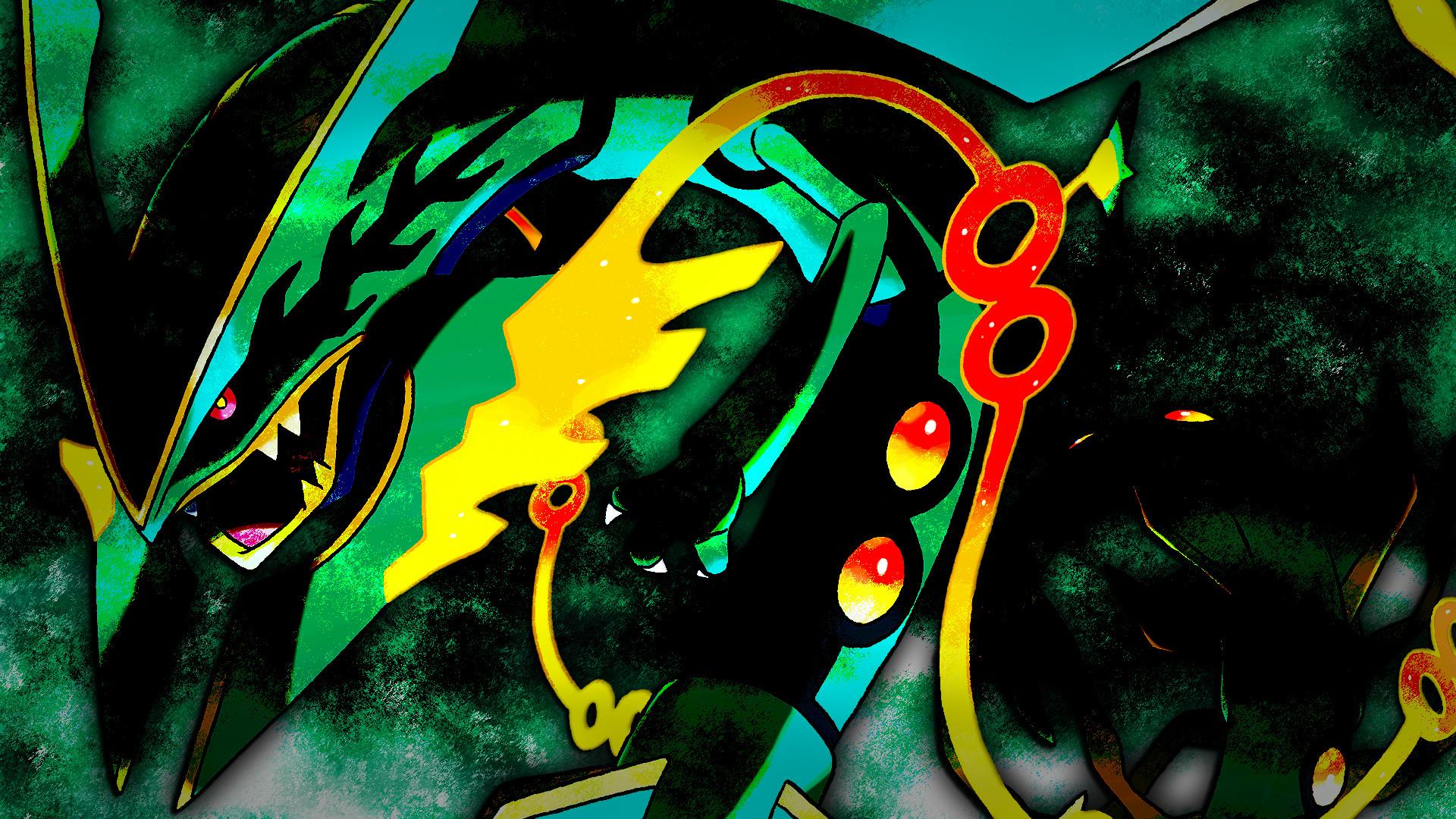 By Charlott Harkless V.62: Amazing Pokemon Mega Rayquaza Pictures &  Backgrounds