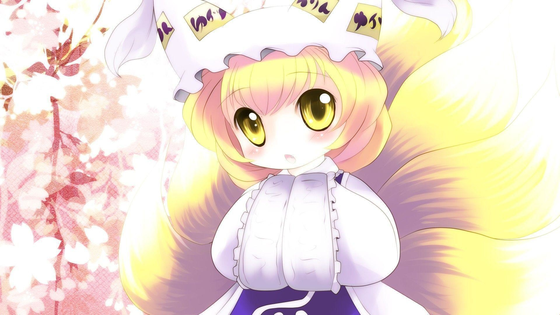 Cute Anime Girl Chibi Wallpaper Wide – ToObjects.