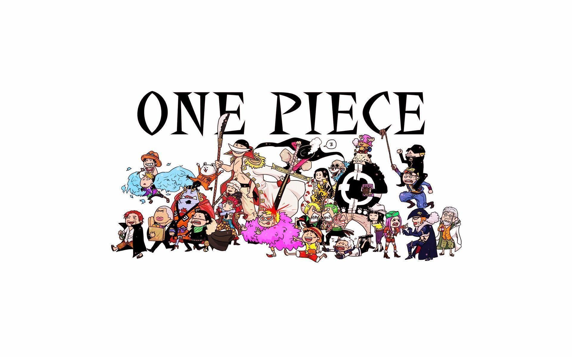 One Piece Anime Chibi 27 HD Wallpaper