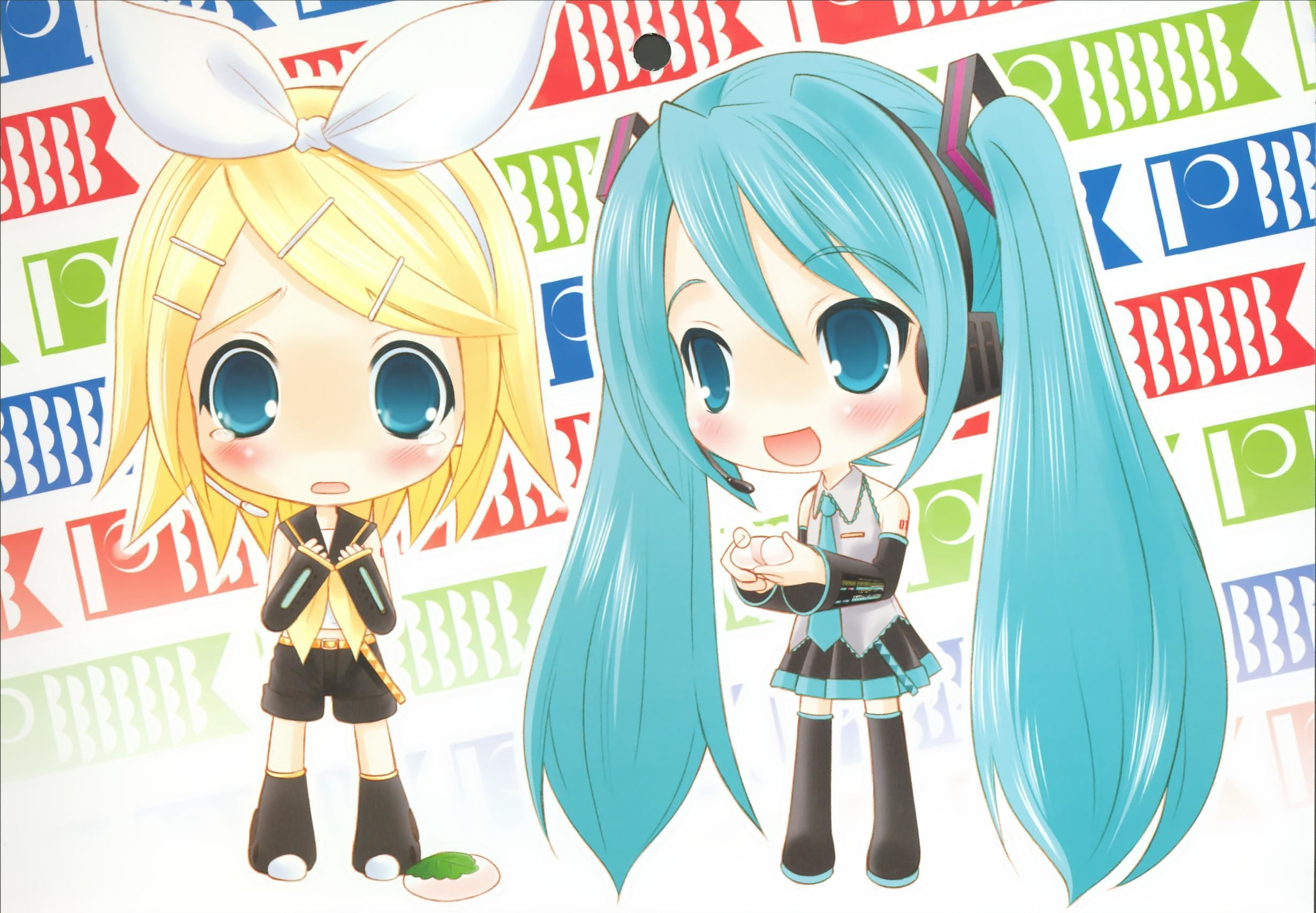 Anime Chibi Vocaloid Wallpapers HD