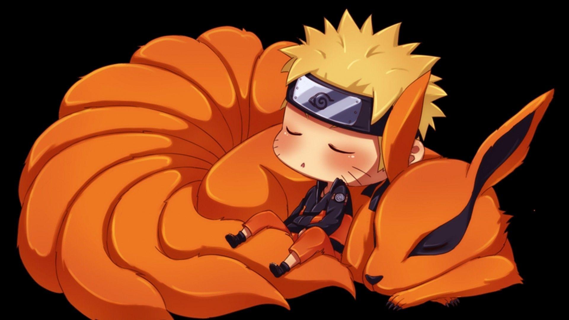 Kurama Naruto Chibi, anime, HD Wallpaper and FREE Stock .