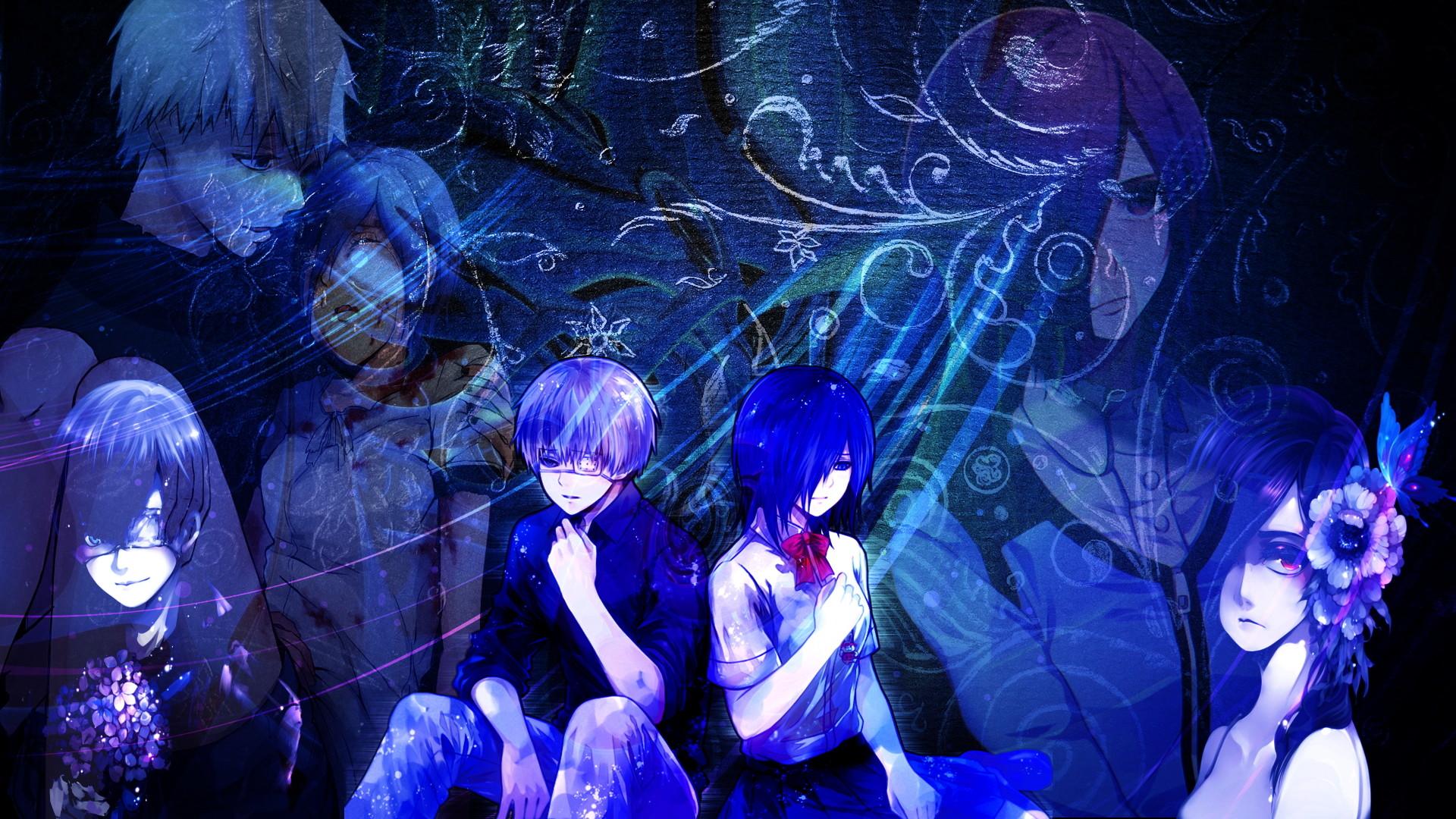 … (Tokyo Ghoul) Touka and Kaneki Wallpaper by nestroix