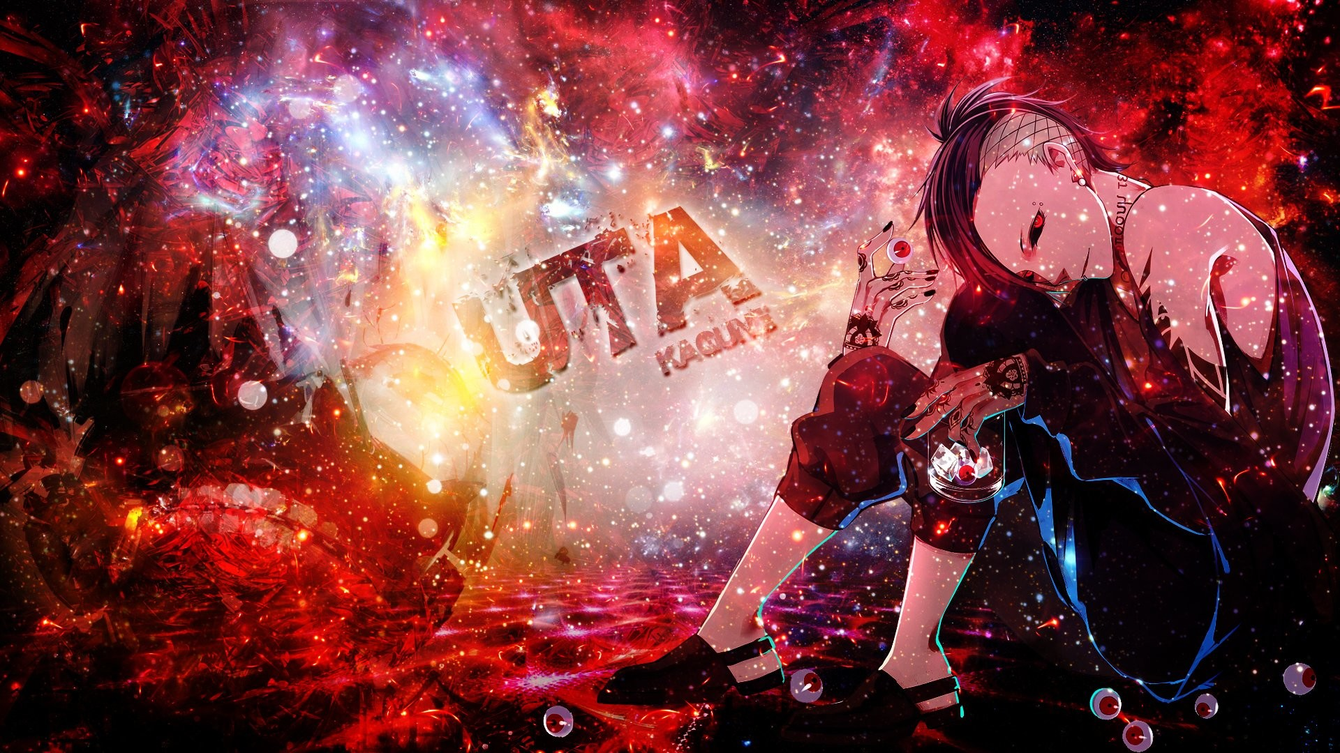 Tokyo Ghoul Uta · Fond d'écran HD   Arrière-plan ID:629543