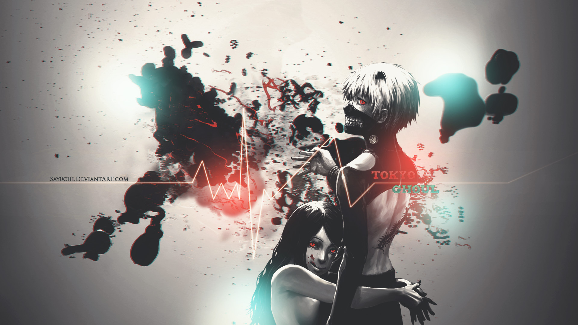 … Tokyo Ghoul Wallpaper 1920 x 1080 [HD] by Say0chi
