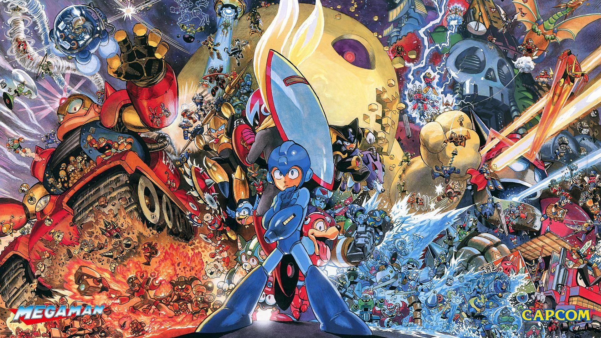 Image – MM Heroes Of Capcom Wallpaper.png – Capcom Database .
