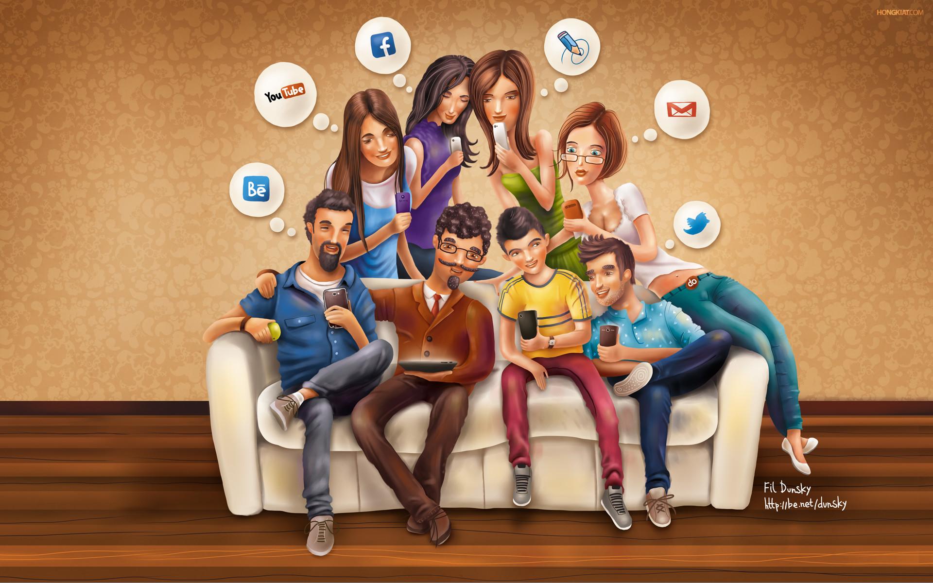 Social Media Wallpapers   HD Wallpapers