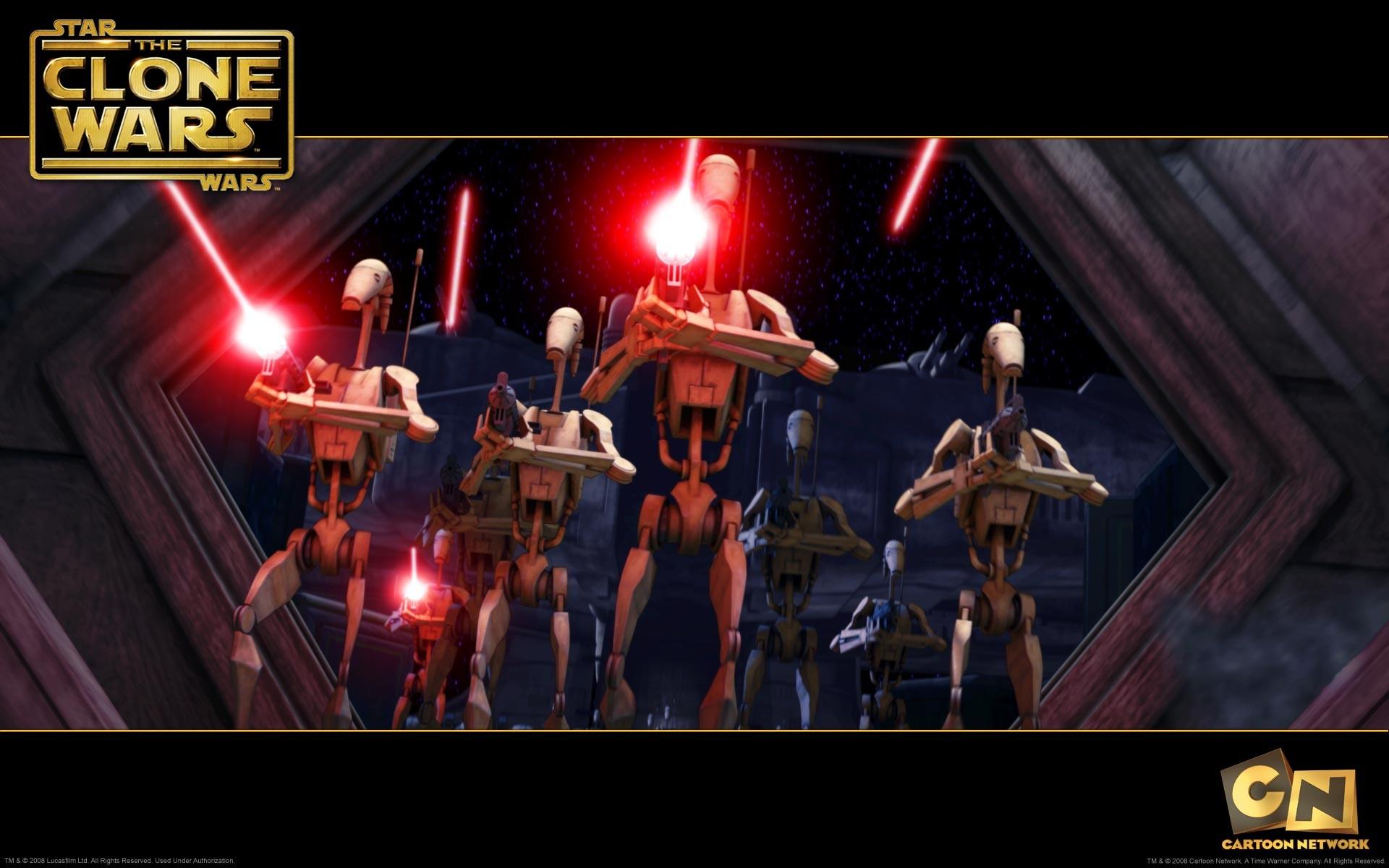 star wars, wallpaper, droids, battle, desktop, droid, click, clone