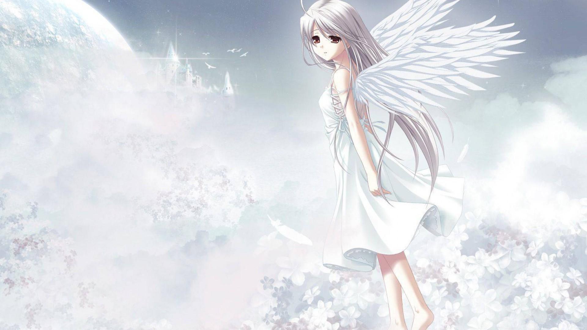 Cute Anime Angel Girl HD Wallpaper – Stylish HD Wallpapers