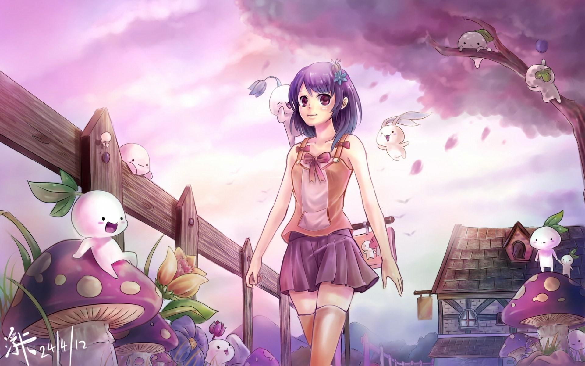 … Cute Anime Wallpaper Hd