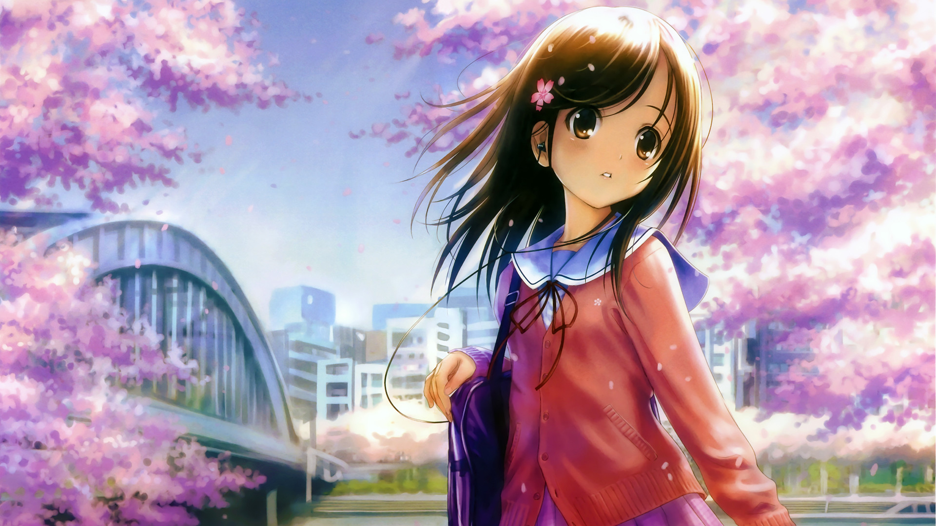 16 HD Cute Anime Desktop Wallpapers For Free Download