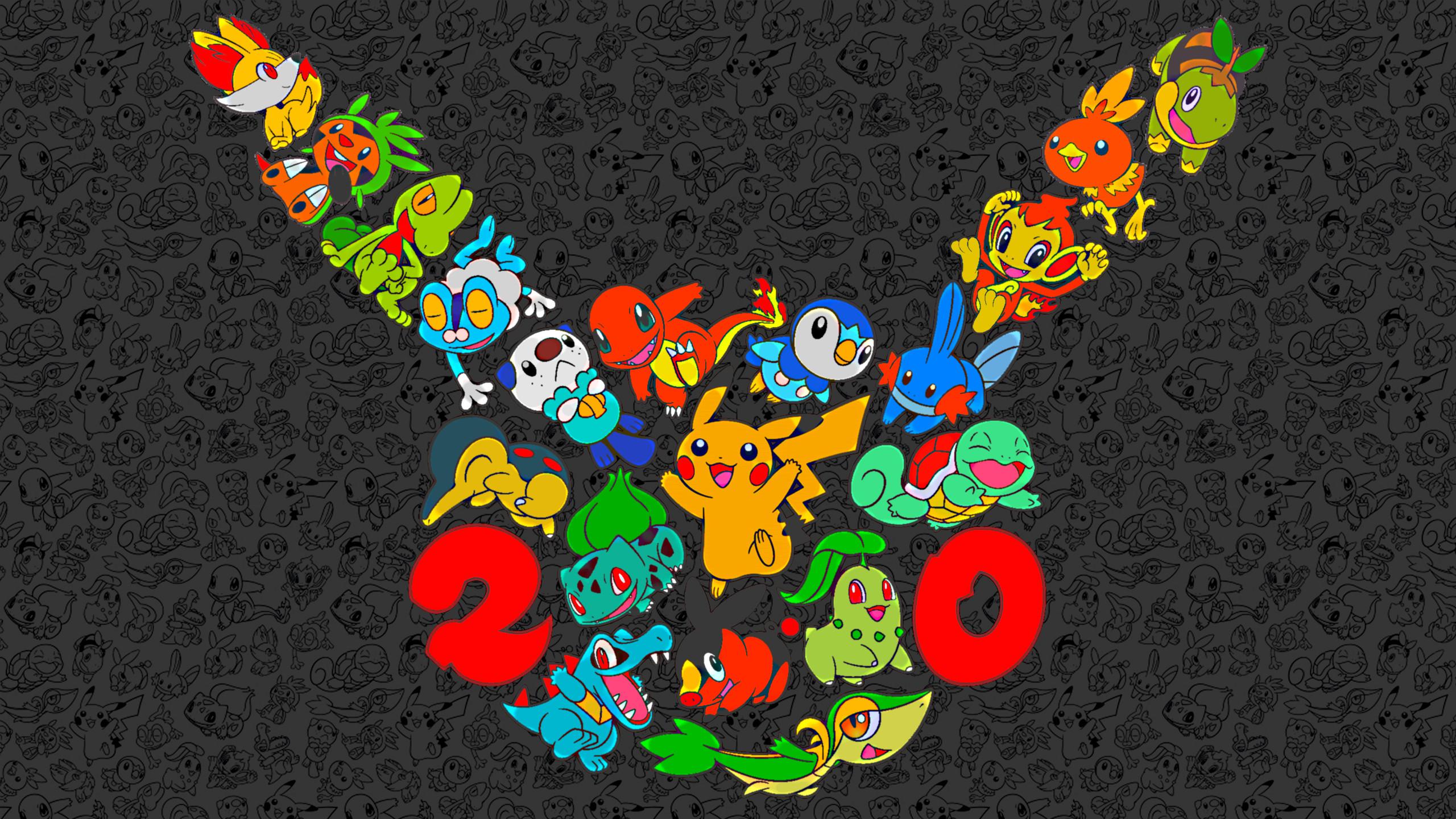 Pokemon 20th Anniversary Wallpapers