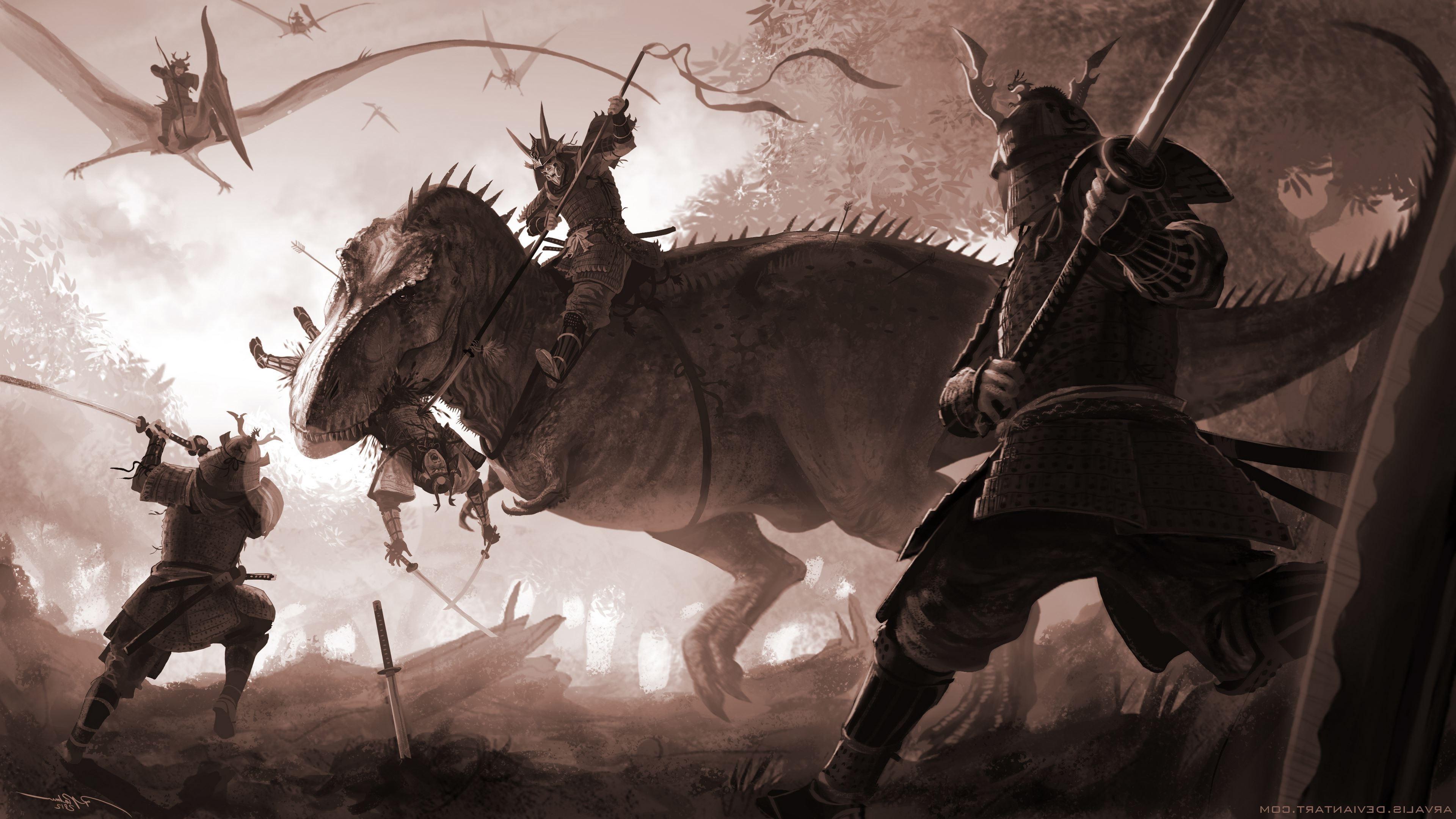anime, Warrior, Fantasy Art Wallpapers HD / Desktop and Mobile Backgrounds
