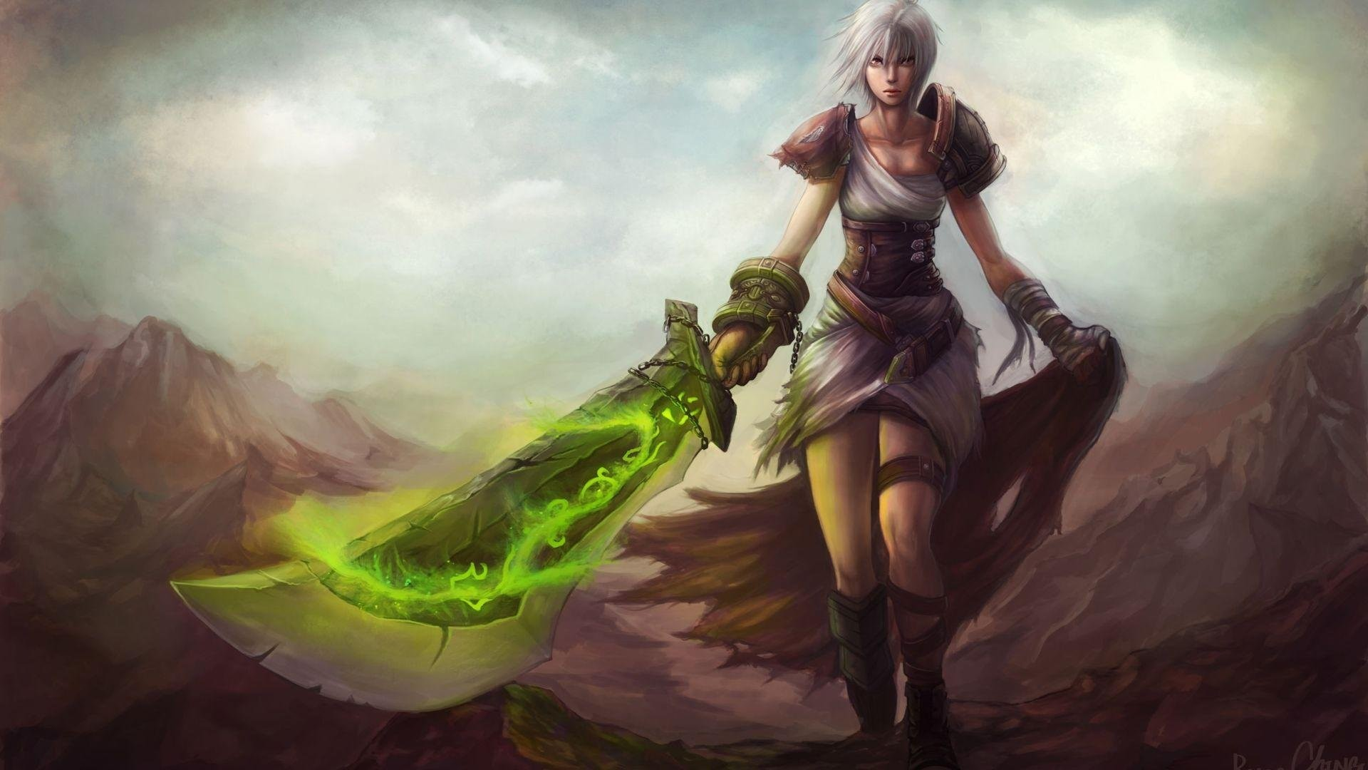League Of Legends Riven 512806. SHARE. TAGS: Warrior Anime