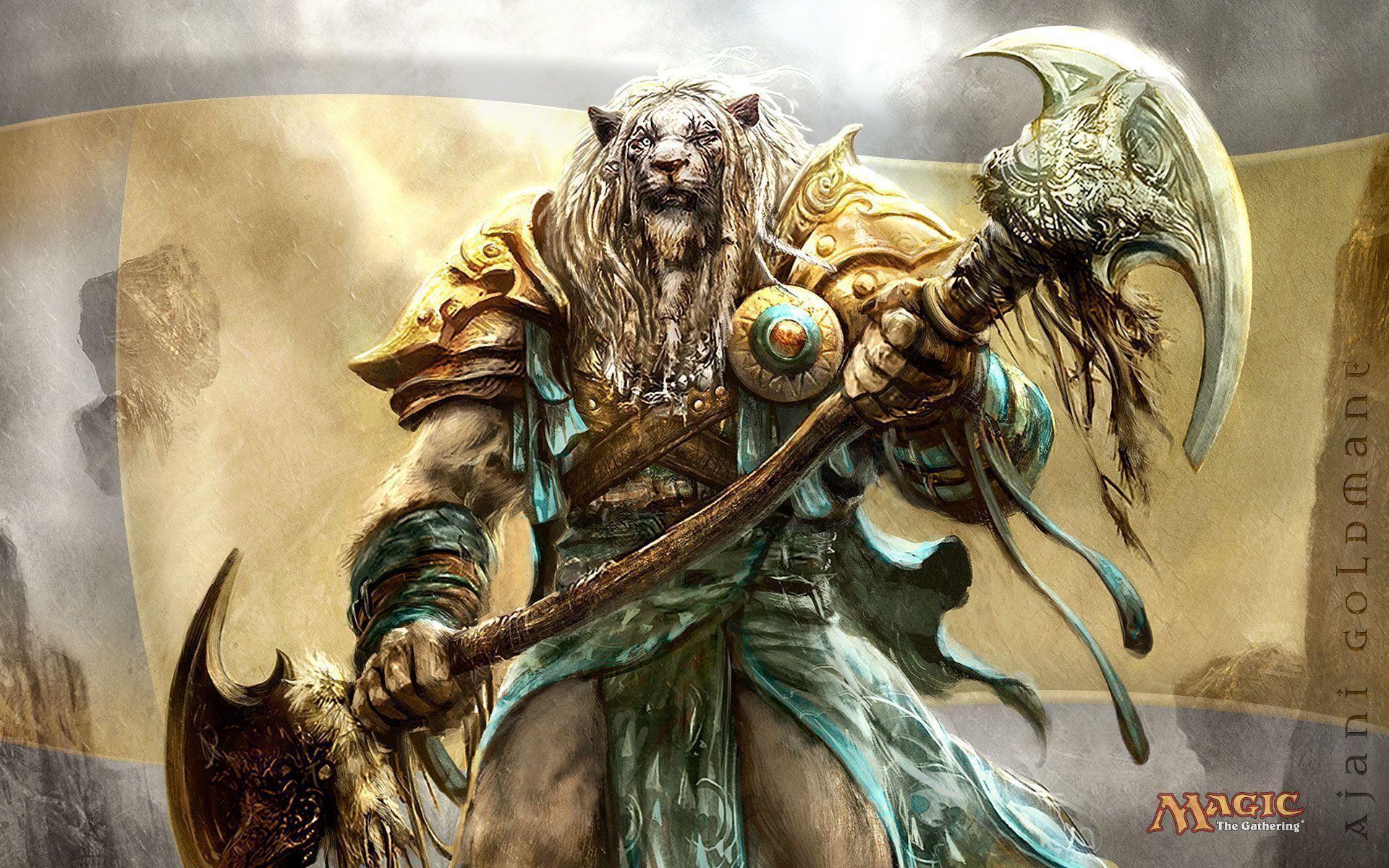 Anime Lion Head Warrior   WallPho.com
