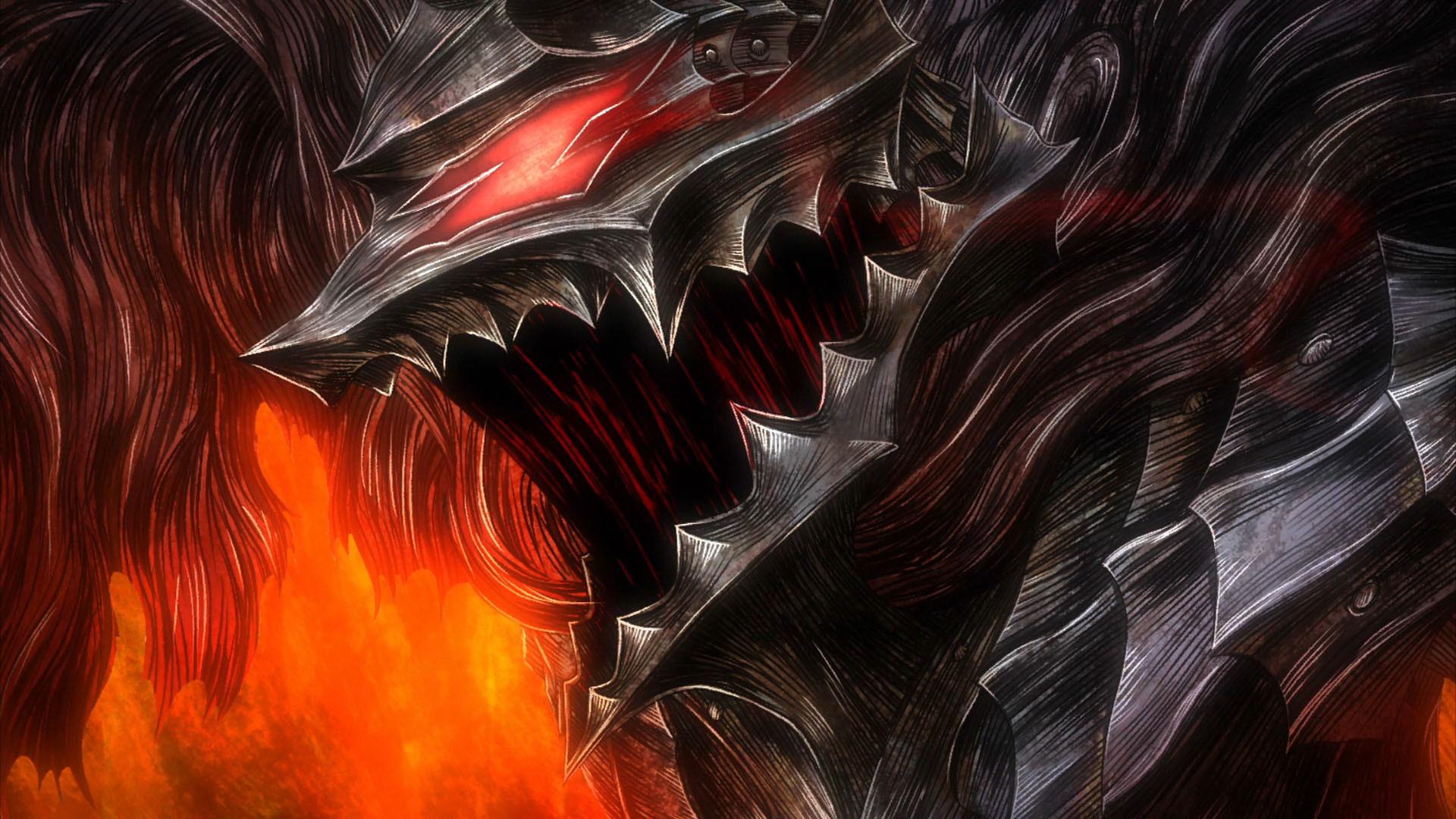 anime, Berserk, warrior, wallpaper