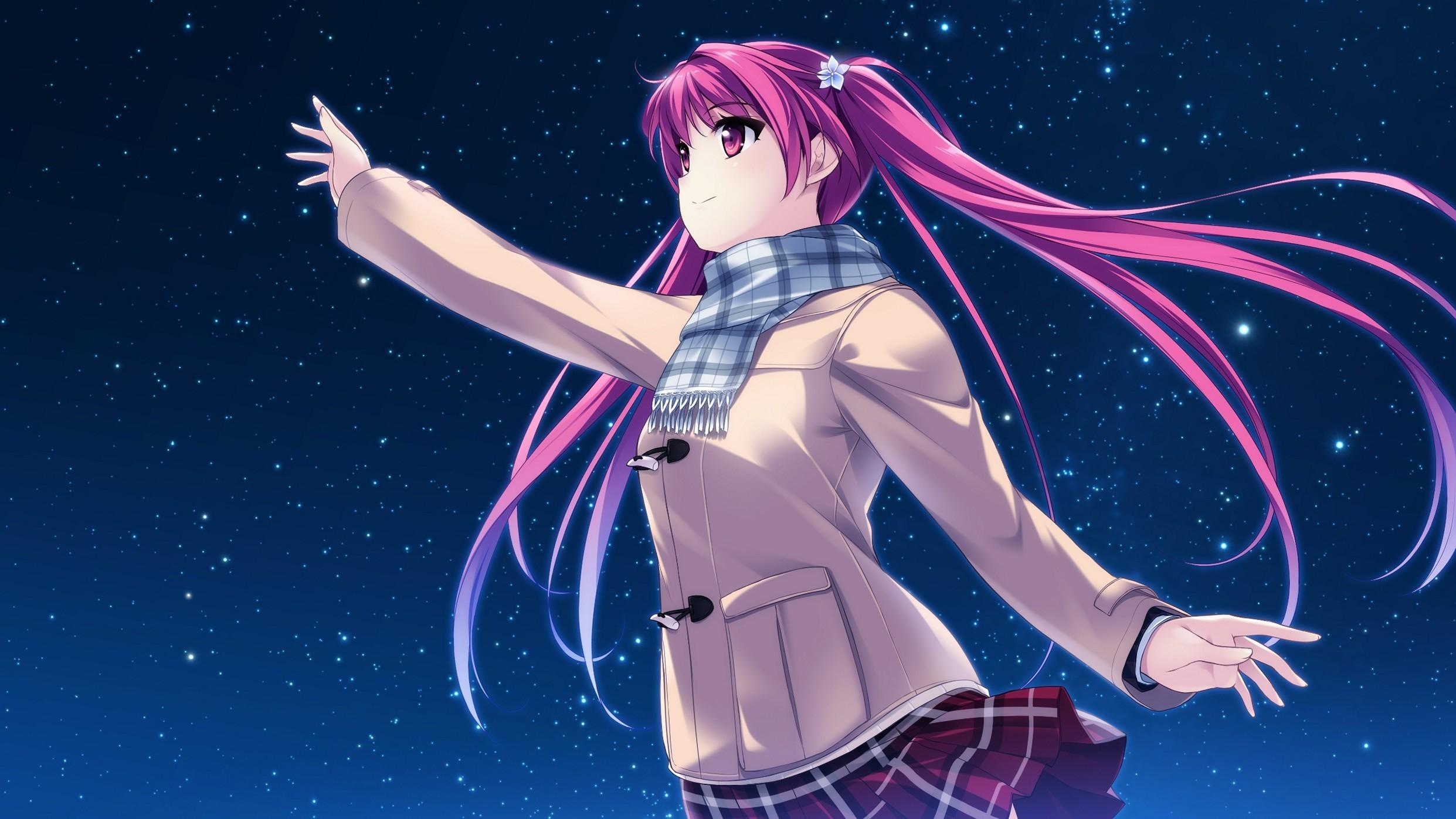 Yashima Takahiro Girl Sky Perfect Anime Wallpaper Phone