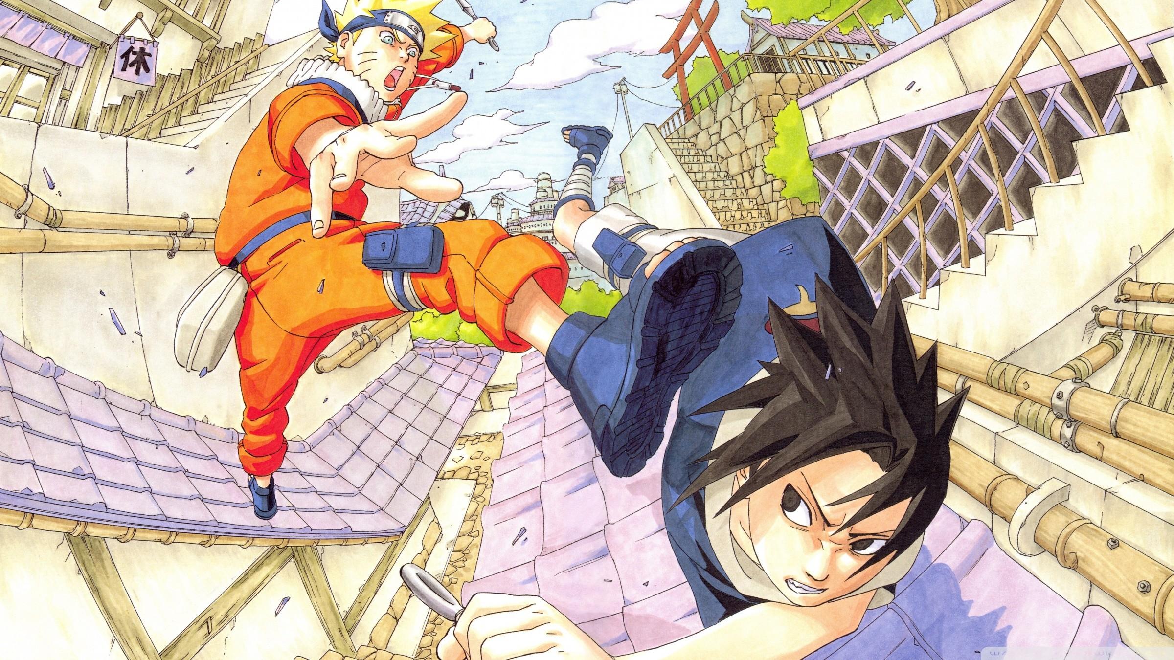 Naruto vs Sasuke | Super HD HD desktop wallpaper Widescreen .