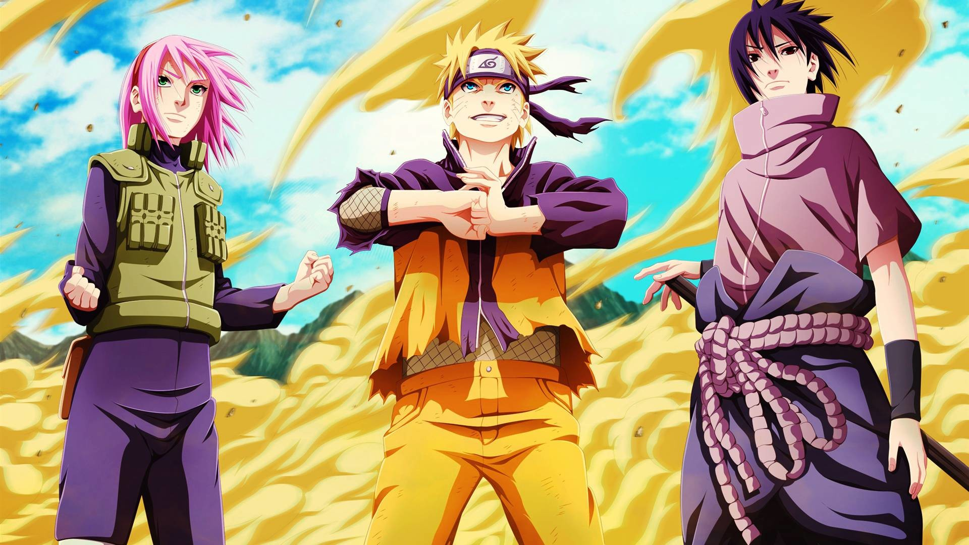 Naruto Sakura Sasuke Team 7 Wallpaper HD #9330 Wallpaper | High .