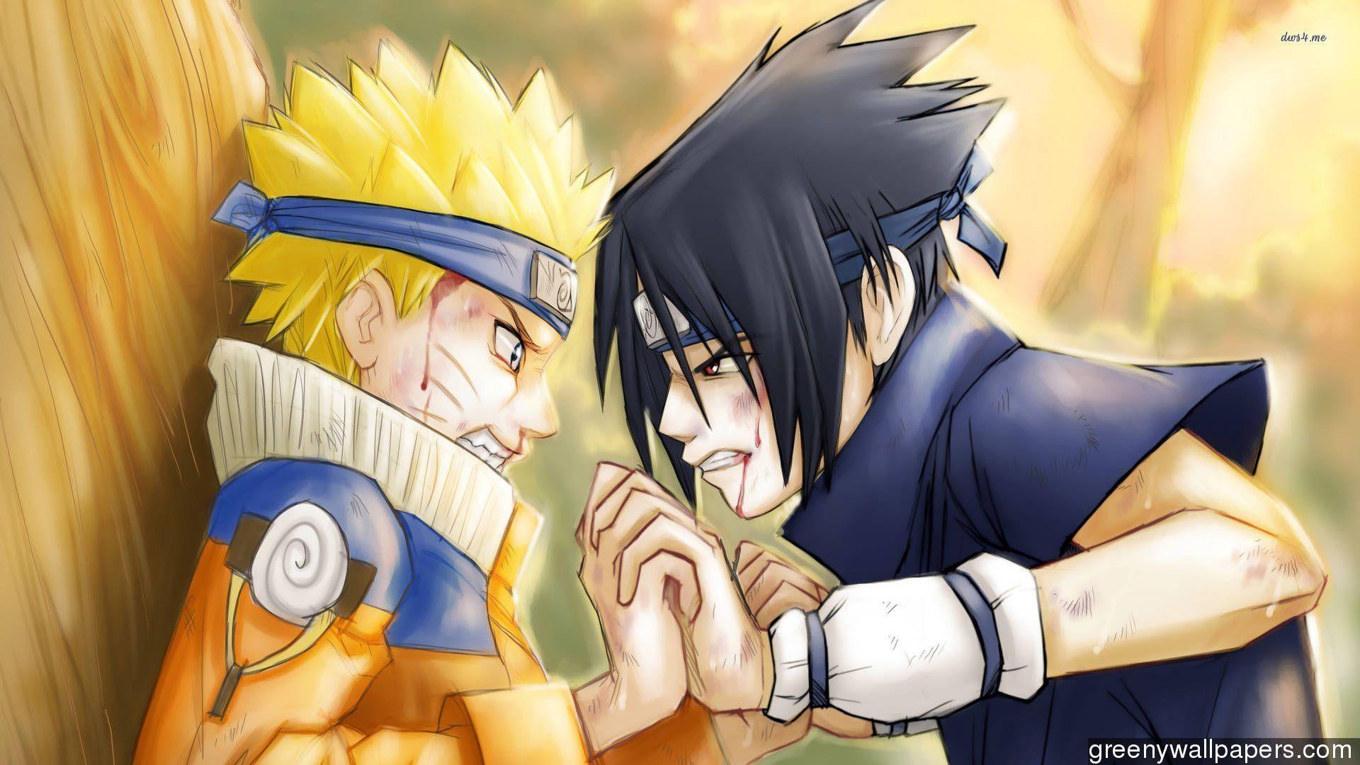 Naruto Vs Sasuke High Resolution Wallpapers : Anime Wallpaper .