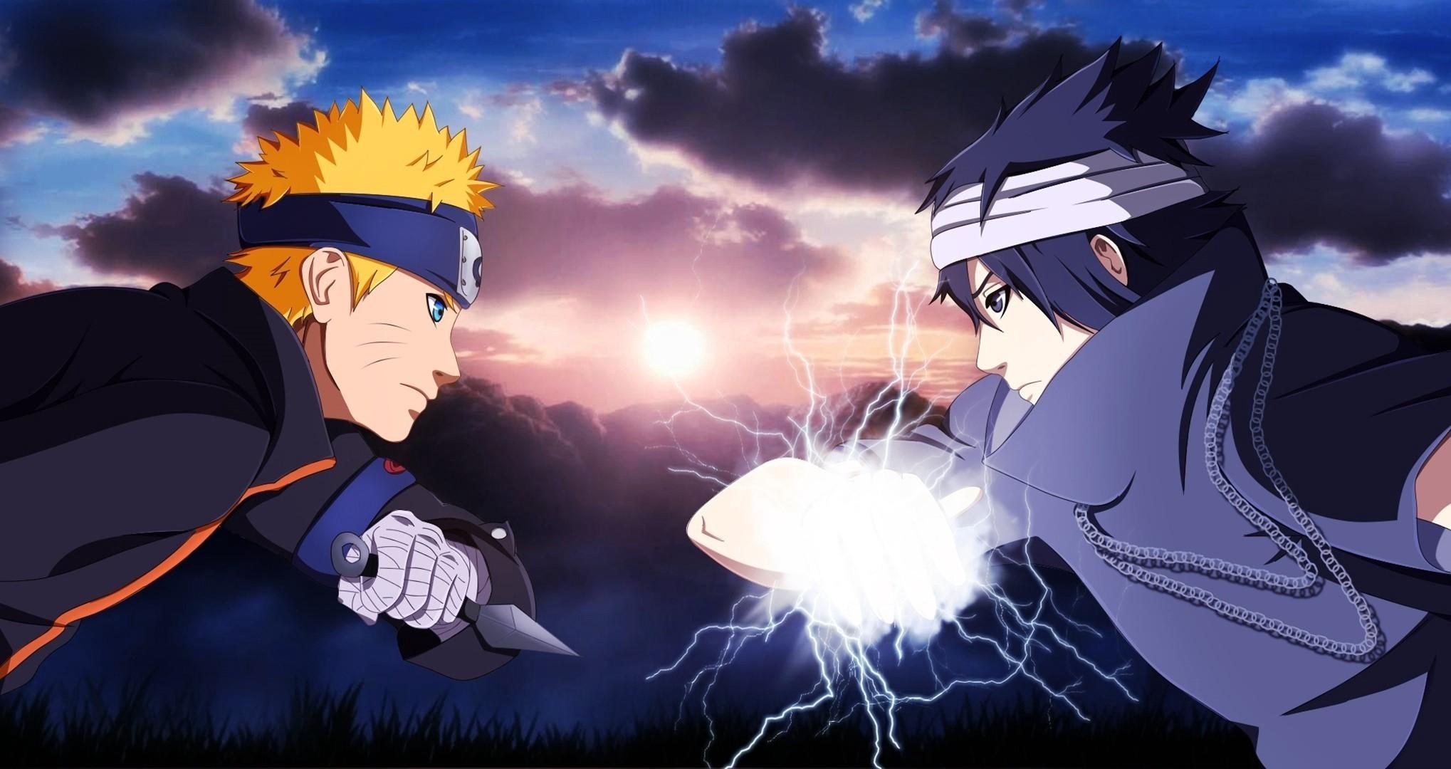 Anime – Naruto Naruto Uzumaki Sasuke Uchiha Wallpaper